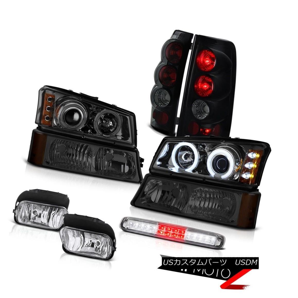 テールライト 03-06 Silverado 1500 Foglamps Bumper Light Roof Brake Headlamps Taillights Euro 03-06 Silverado 1500 Foglampsバンパーライトルーフブレーキヘッドランプテールランプユーロ