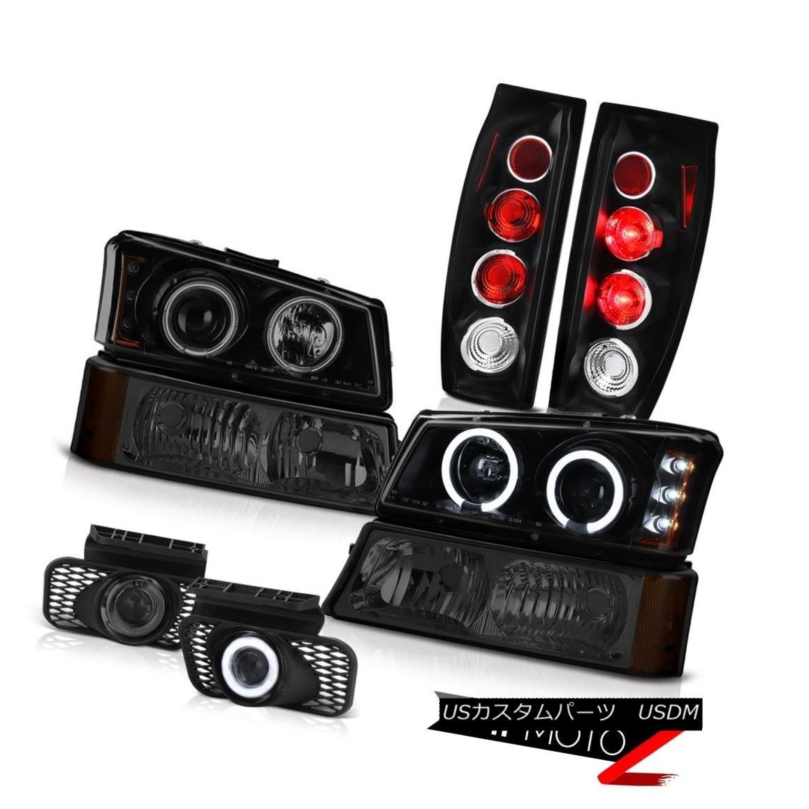 テールライト 03-06 Avalanche 2500 Foglights Black Tail Lamps Signal Light Headlamps Euro LED 03-06雪崩2500 FoglightsブラックテールランプシグナルライトヘッドランプユーロLED