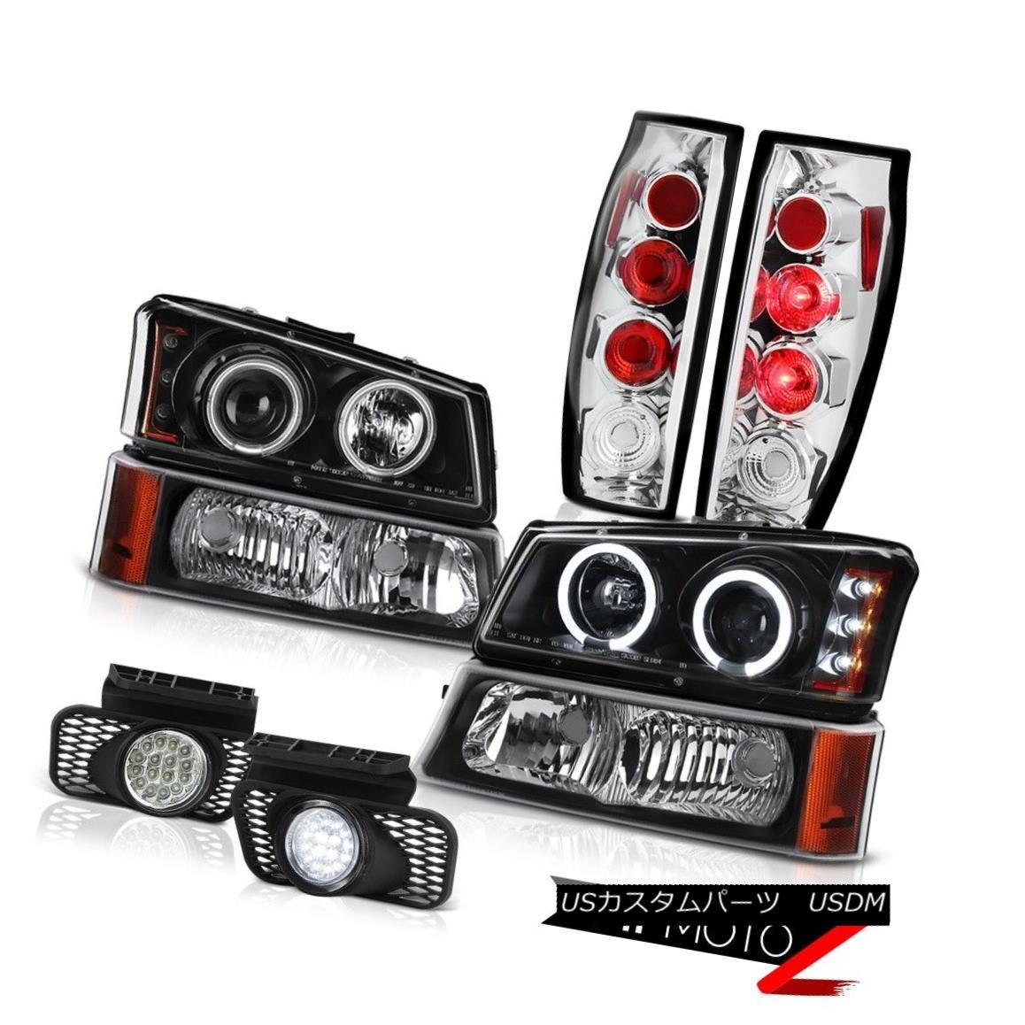 テールライト 2003-2006 Chevy Avalanche Foglamps Tail Lights Bumper Lamp Projector Headlamps 2003-2006シボレーアバランシェフォグランプテールライトバンパーランププロジェクターヘッドランプ