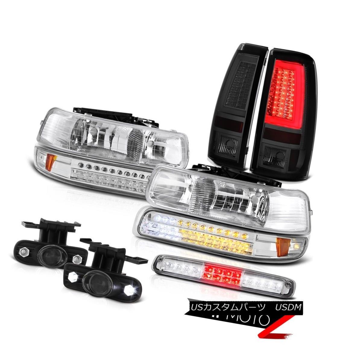 テールライト 99-02 Silverado WT Taillamps Headlamps Parking Lamp Roof Brake Light Foglights 99-02 Silverado WT Taillampsヘッドランプパーキングランプルーフブレーキライトフォグライト