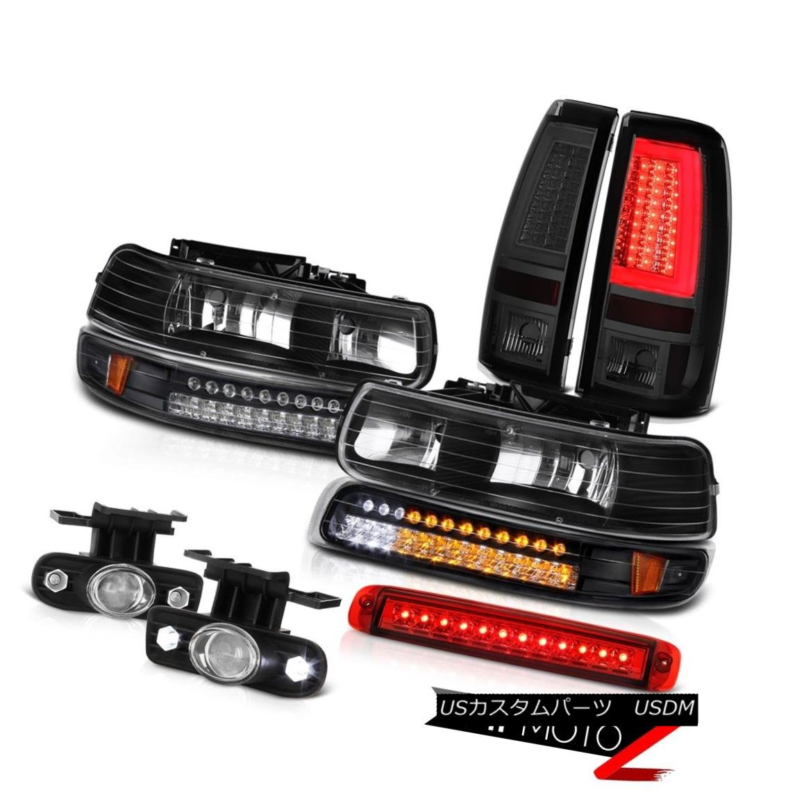 テールライト 99-02 Silverado 4WD Tail Lights Roof Cab Light Fog Signal Lamp