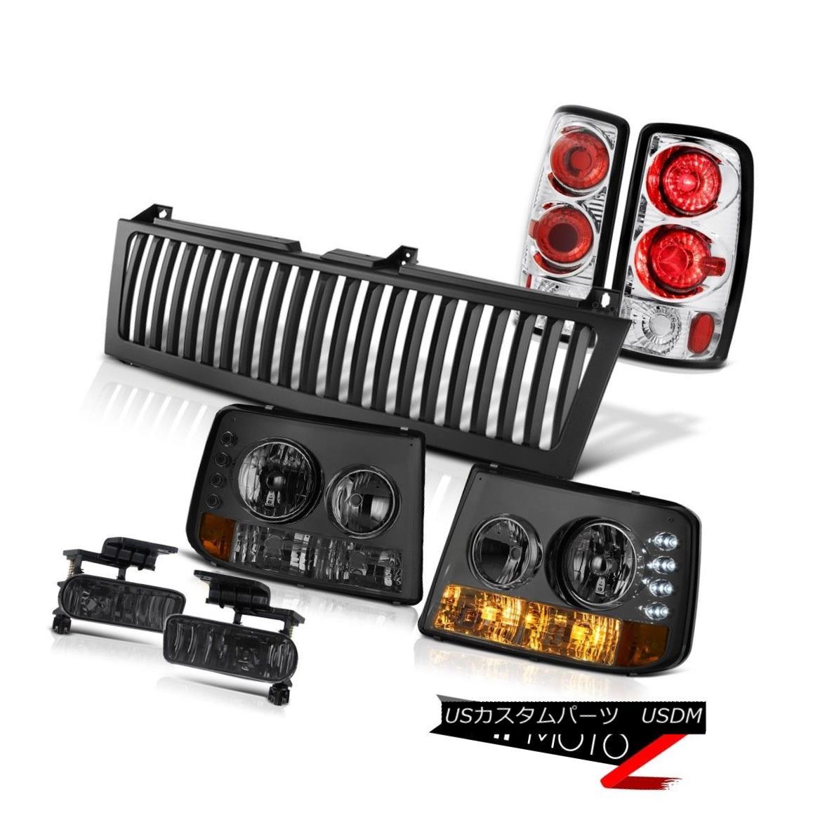 テールライト 00 01 02 03 04 05 06 Suburban Headlight Reverse Brake Tail Lamp Smoke Fog Grille 00 01 02 03 04 05 06郊外ヘッドライトリバースブレーキテールランプスモークフォググリル