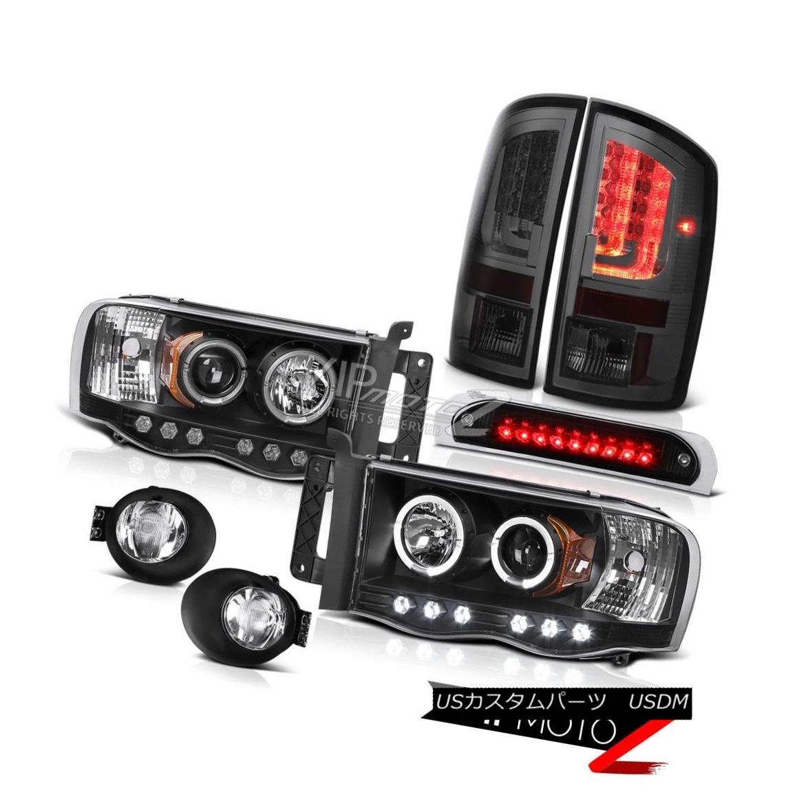 テールライト 2003-2005 Dodge Ram 2500 SLT Taillamps Foglamps 3RD Brake Light Headlamps LED 2003-2005 Dodge Ram 2500 SLT Taillamps Foglamps 3RDブレーキライトヘッドランプ