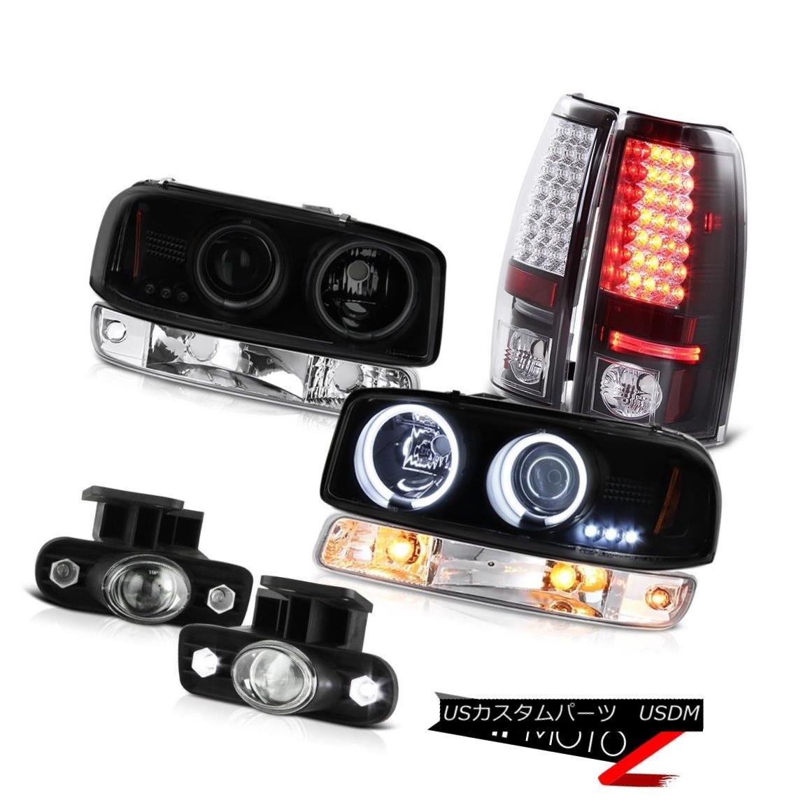 テールライト 99-02 Sierra SL Euro chrome foglights led taillamps bumper light ccfl headlamps 99-02シエラSLユーロクロームフォグライトはテールランプバンパーライトccflヘッドランプを導いた