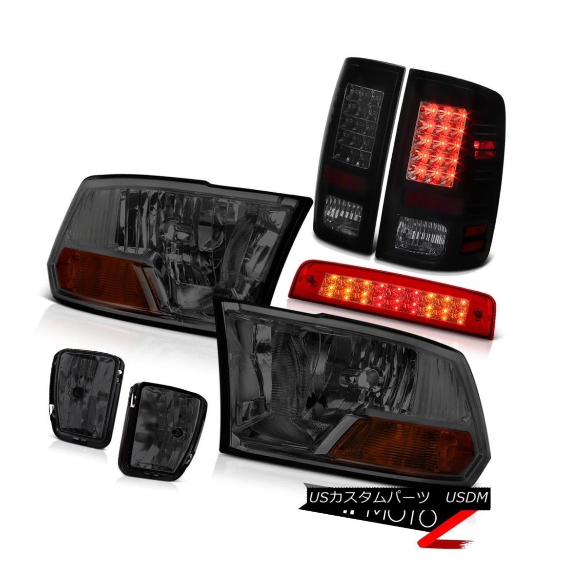 テールライト 13-18 Ram 1500 SpoRT Rosso Red Roof Brake Light Fog Lamps Tail Lights Headlights 13-18ラム1500 SpoRTロッソレッドルーフブレーキライトフォグランプテールライトヘッドライト