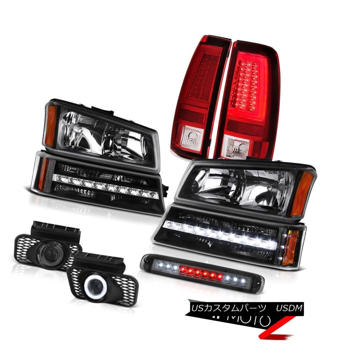 テールライト 03-06 Silverado Taillamps 3RD Brake Light Headlamps Fog Lamps Bumper Light Bar 03-06 Silverado Taillamps 3RDブレーキライトヘッドランプフォグランプバンパーライトバー