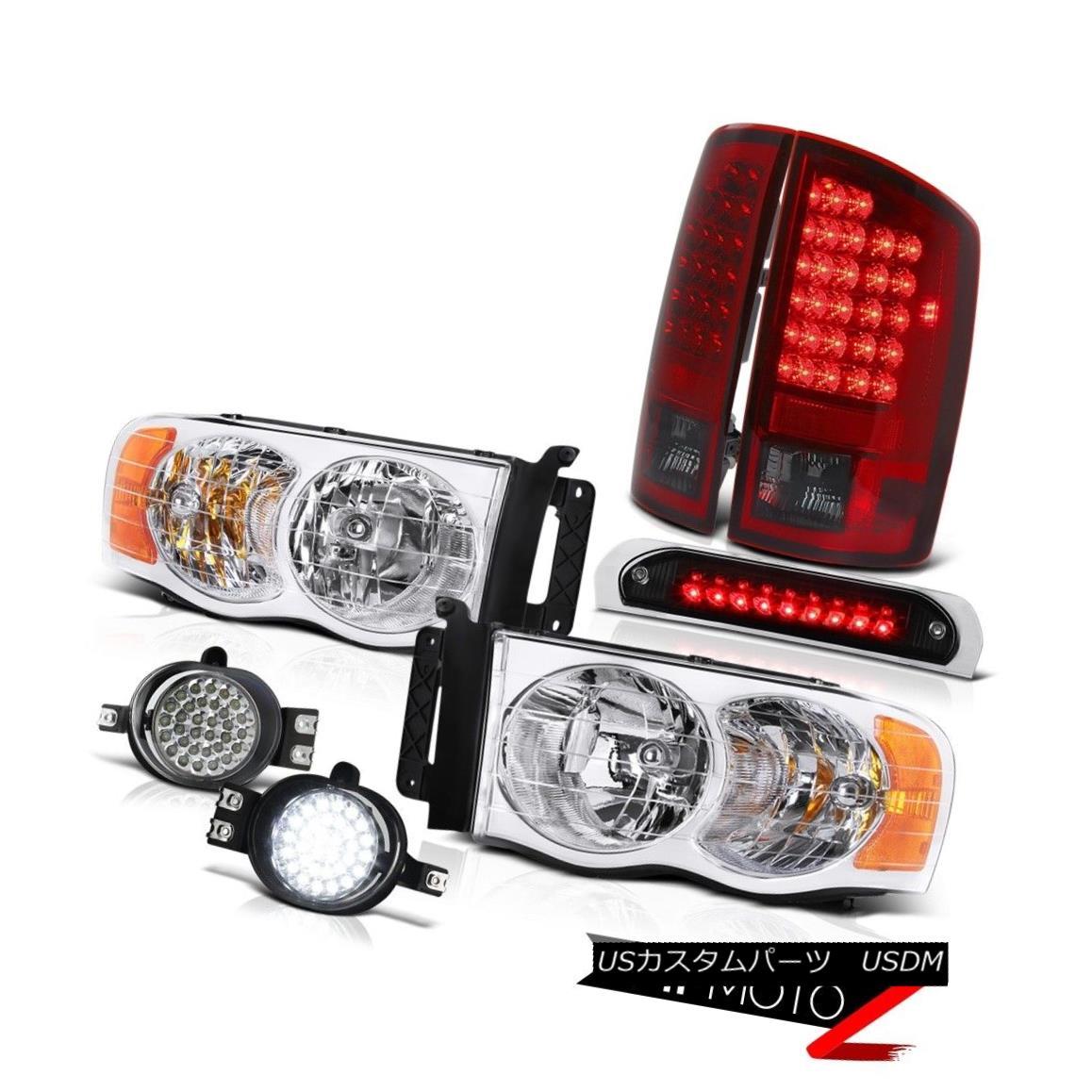 テールライト 02 03 04 05 Ram WS Left Right Headlamps SMD Tail Lamps LED Fog Third Brake Cargo 02 03 04 05 Ram WS左ライトヘッドランプSMDテールランプLEDフォグ第3ブレーキ貨物