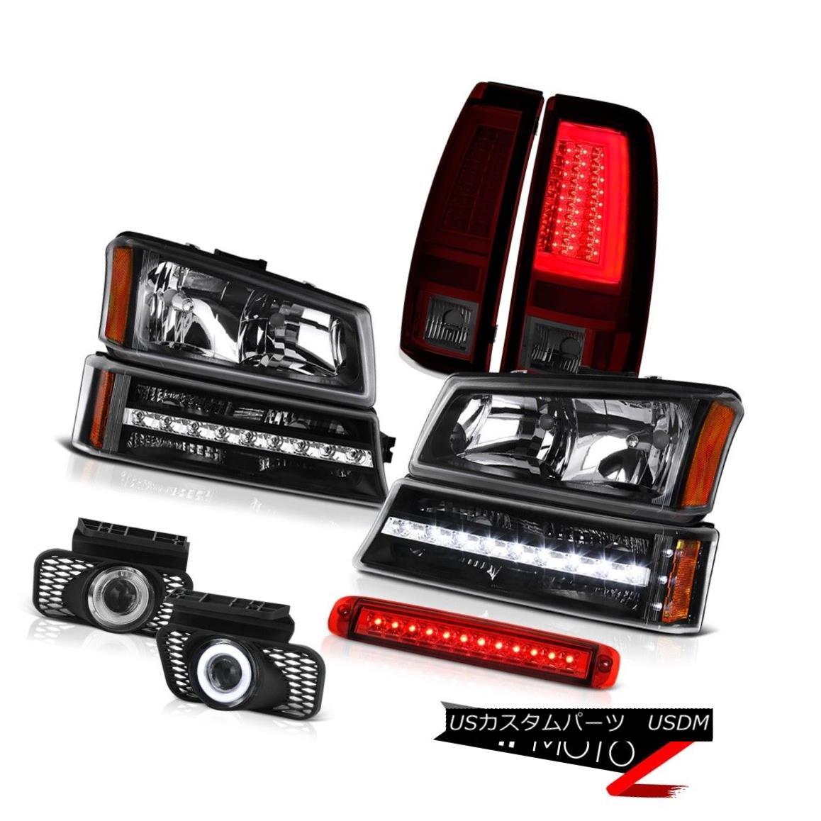 テールライト 03-06 Chevy Silverado Taillights High Stop Light Headlights Foglamps Signal Lamp 03-06 Chevy Silveradoテールライトハイストップライトヘッドライトフォグランプシグナルランプ