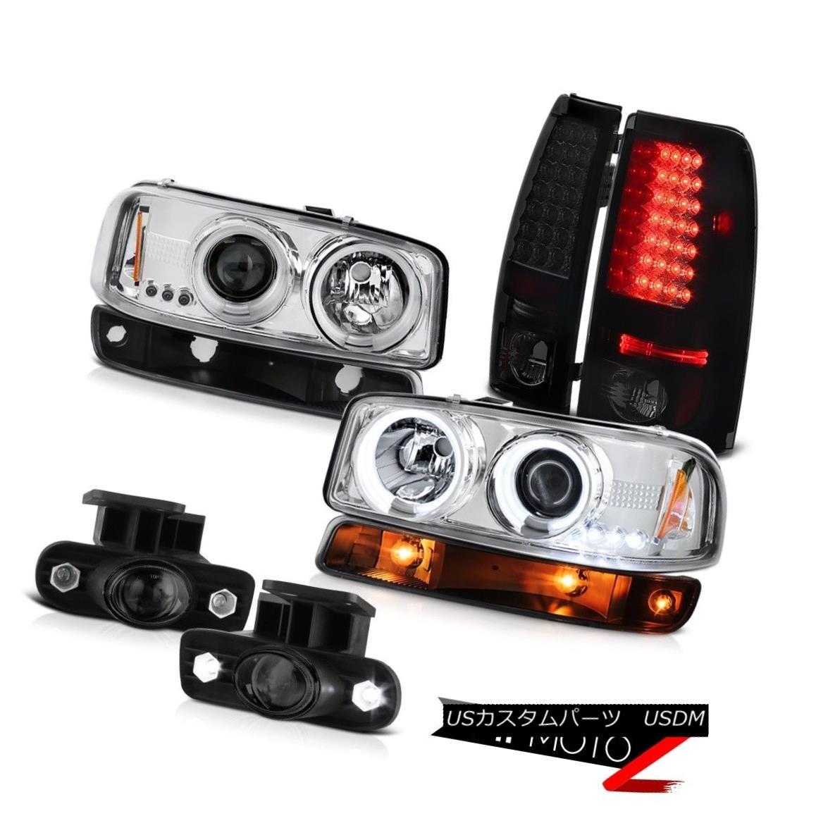 テールライト 99-02 Sierra SLE Smokey foglights led taillights signal lamp ccfl headlights 99-02 Sierra SLEスモーキー・フォグライト・テールランプ信号ランプccflヘッドライト