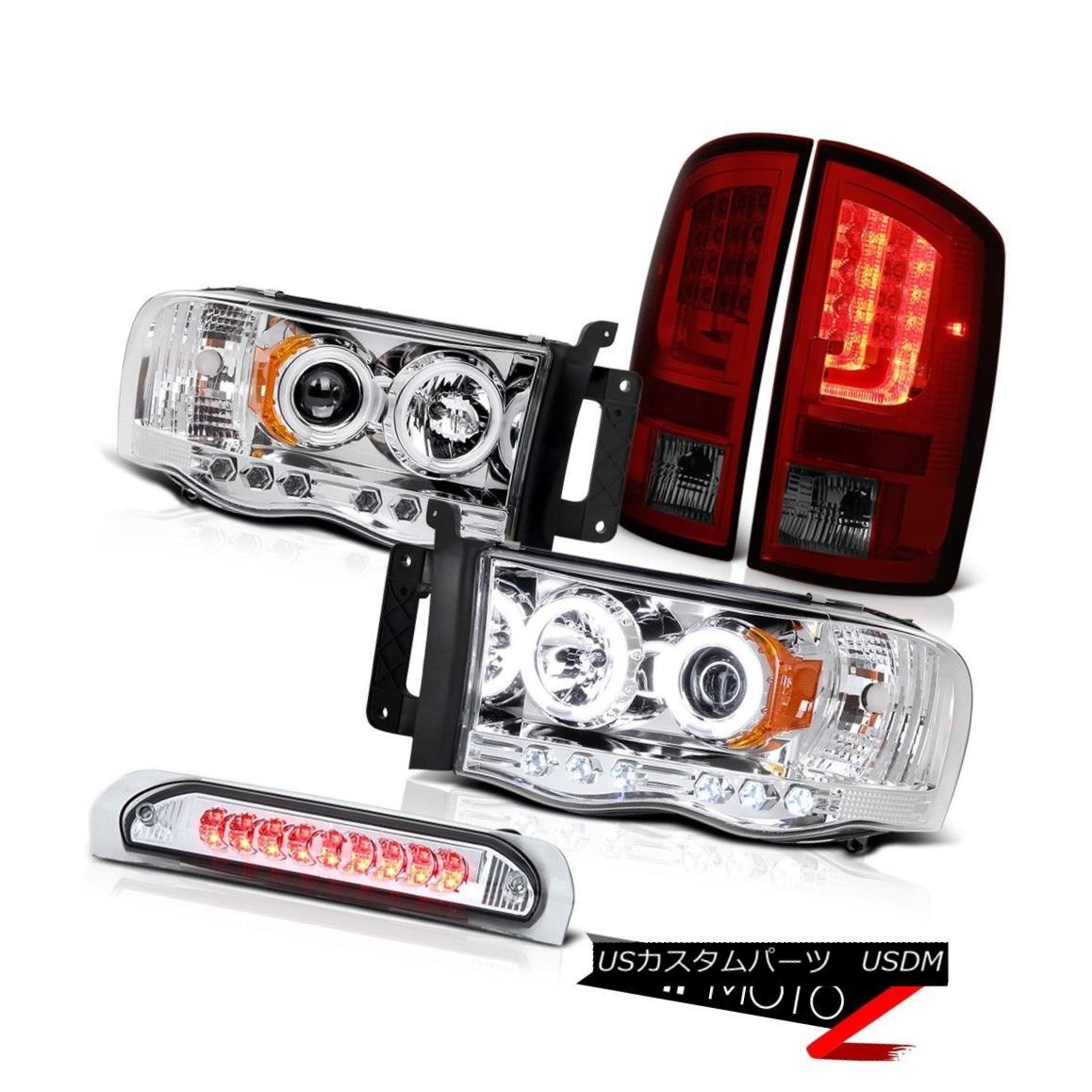 テールライト 2003-2005 Dodge Ram 1500 4.7L Parking Brake Lights Headlamps Roof Cab Light LED 2003-2005 Dodge Ram 1500 4.7L駐車ブレーキライトヘッドランプルーフキャブライトLED