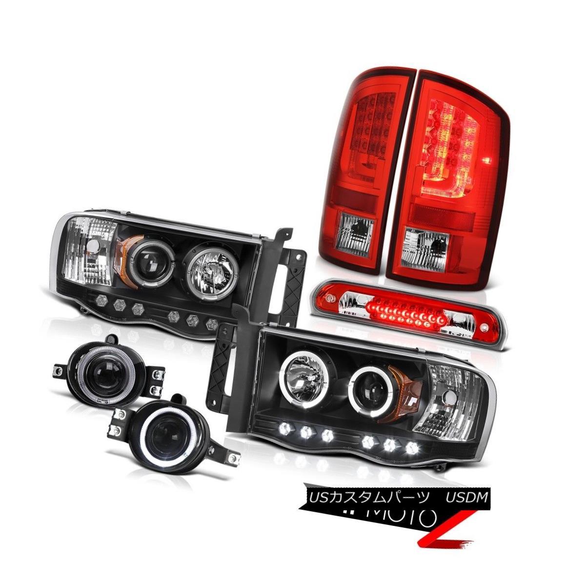 テールライト 2003-2005 Dodge Ram 2500 WS Taillights Headlights Foglamps 3RD Brake Light LED 2003-2005 Dodge Ram 2500 WSターンライトヘッドライトフォグランプ3RDブレーキライトLED