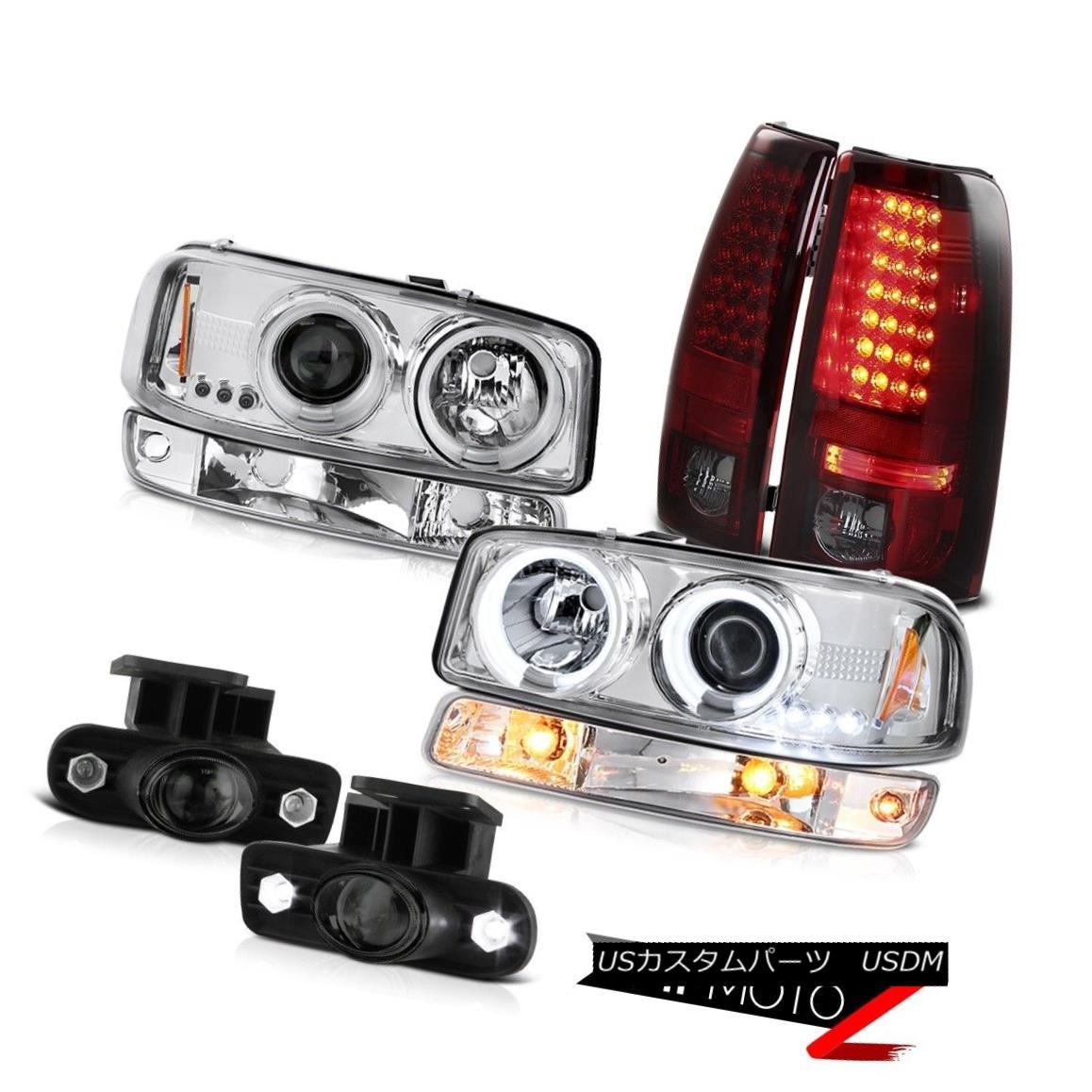テールライト 99 00 01 02 Sierra 6.6L Foglights led tail lights turn signal ccfl headlights 99 00 01 02 Sierra 6.6L Foglights ledテールライトturn信号ccflヘッドライト