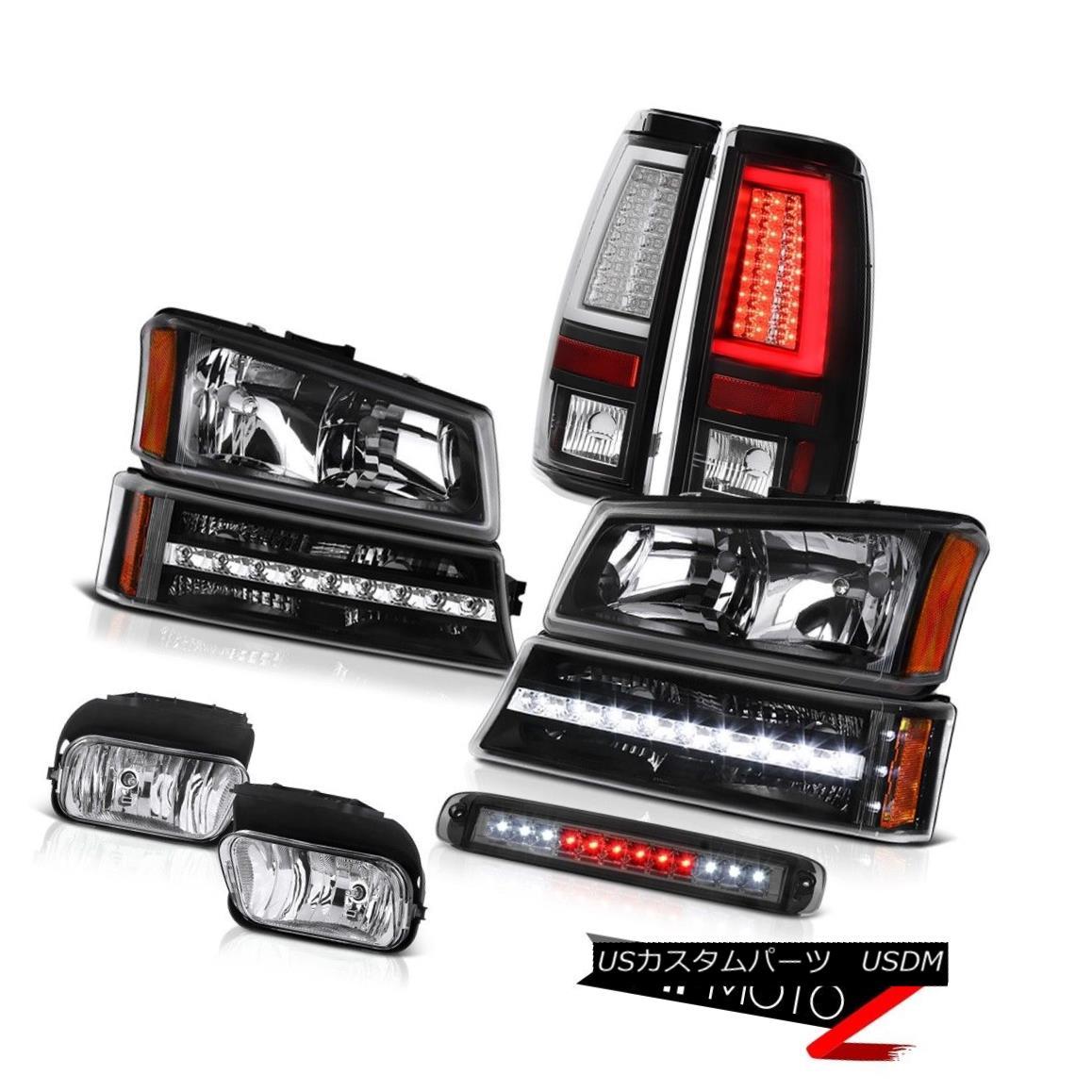 テールライト 03-06 Silverado 1500 Tail Lights High Stop Light Foglights Headlamps Signal LED 03-06 Silverado 1500テールライトハイストップライトフォグライトヘッドランプ信号LED