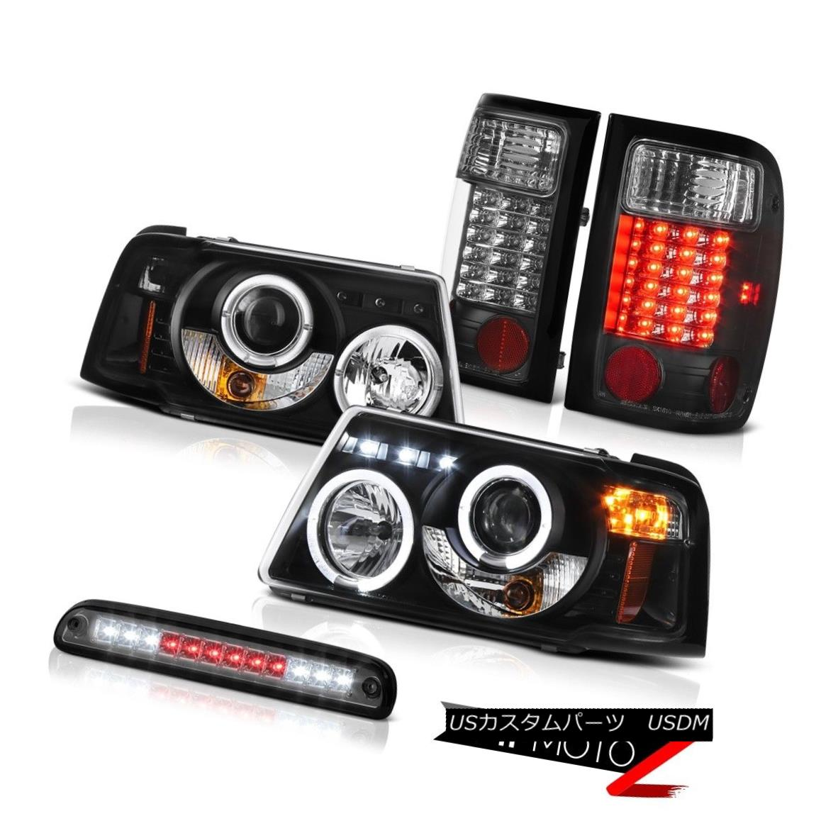 テールライト LED Daytime Projector Bulbs Tail Lights 3rd Brake Smoke 01-11 Ford Ranger Edge LEDデイタイムプロジェクター電球テールライト3rdブレーキスモーク01-11 Ford Ranger Edge