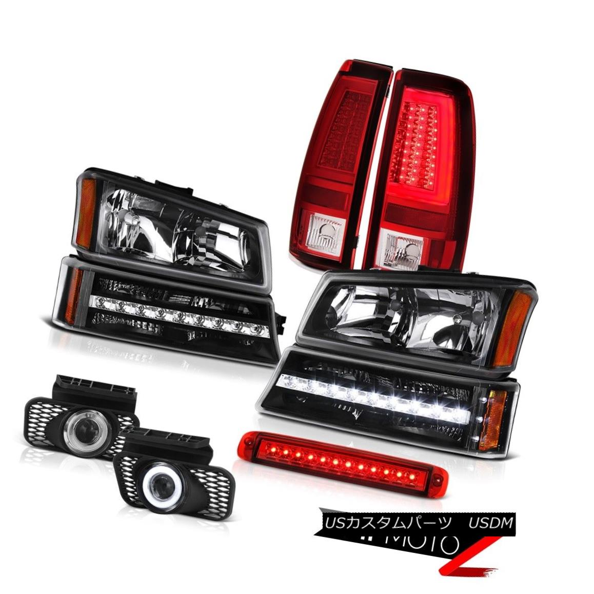 テールライト 03-06 Silverado Tail Lamps Roof Cab Light Headlamps Fog Bumper Lamp