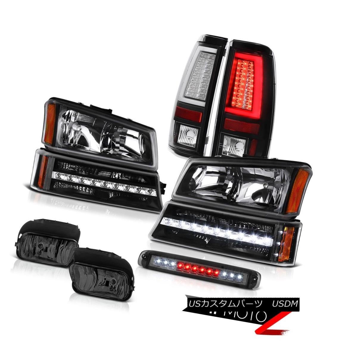 テールライト 03-06 Silverado 1500 Taillamps 3RD Brake Light Fog Lights Headlamps Bumper LED 03-06 Silverado 1500 Taillamps 3RDブレーキライトフォグライトヘッドランプバンパーLED