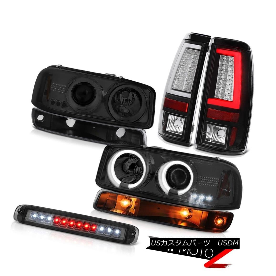 テールライト 99-06 Sierra SL Tail Brake Lights Third Light Signal CCFL Headlamps