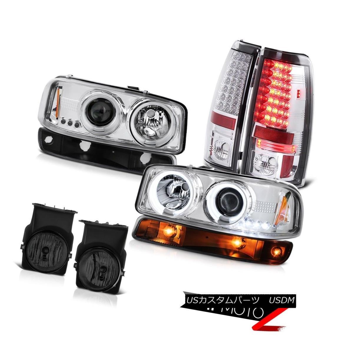 テールライト 03-06 Sierra 1500 Smokey foglamps taillamps parking light ccfl headlights LED 03-06 Sierra 1500スモーキーフォグランプテールランプパーキングライトccflヘッドライトLED