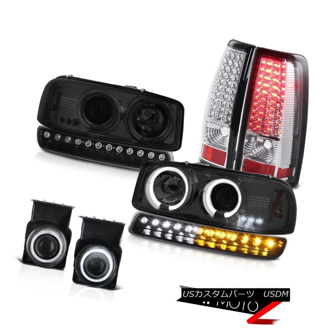 テールライト 2003-2006 Sierra 3500HD Euro clear fog lights led tail turn signal Headlamps 2003-2006シエラ3500HDユーロクリアフォグライトがテールターンシグナルヘッドランプを導いた