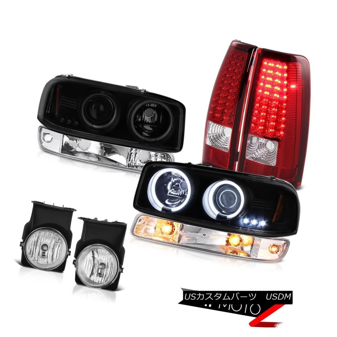 テールライト 2003-2006 Sierra 2500HD Foglamps tail brake lights parking light ccfl headlamps 2003-2006 Sierra 2500HD Foglampsテールブレーキライト、パーキングライトccflヘッドランプ