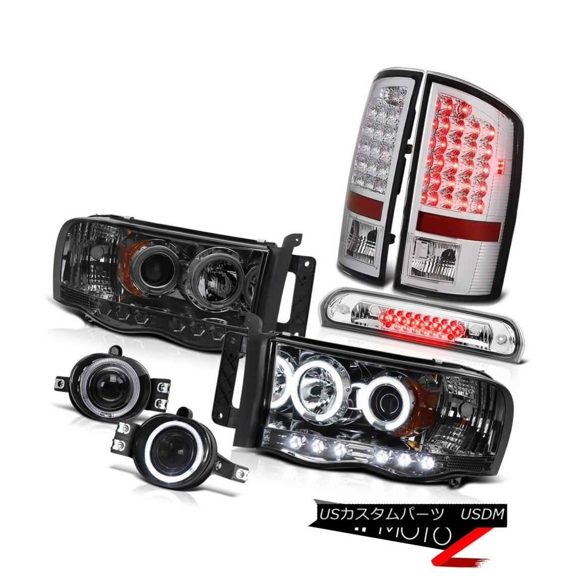 テールライト 02 03 04 05 Ram CCFL Headlights LED Tail Lights Projector Foglights Third Brake 02 03 04 05ラムCCFLヘッドライトLEDテールライトプロジェクターフォグライト第3ブレーキ