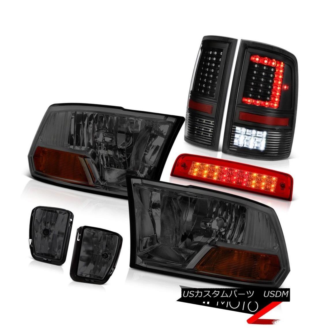 テールライト 2013-2018 RAM 1500 Tail Light Third Brake Fog Lamp Factory Style Headlamp SET 2013-2018 RAM 1500テールライト第3ブレーキフォグランプ工場風ヘッドランプSET