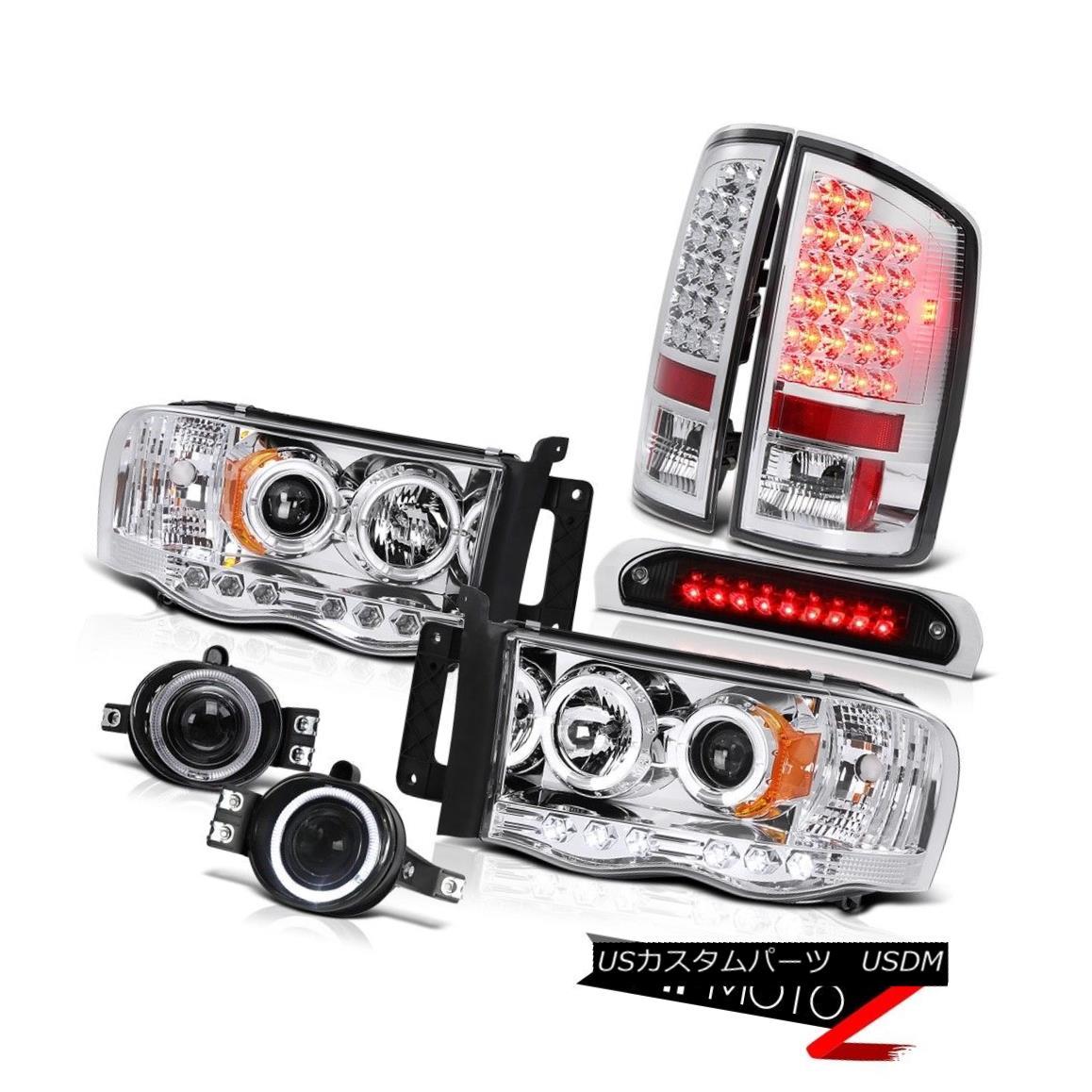 テールライト 02 03 04 05 Ram LED Headlight Brake Tail Lights Projector Foglight High Stop Blk 02 03 04 05ラムLEDヘッドライトブレーキテールライトプロジェクターフォグライトハイストップBlk