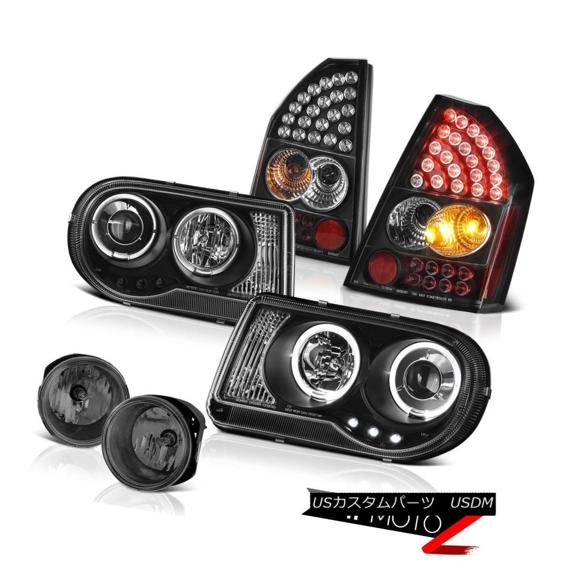 テールライト 2008 2009 2010 Chrysler 300C LED Daytime Headlights SMD Tail Lights Tinted Fog 2008年2009年2010年クライスラー300C LED昼間ヘッドライトSMDテールライトチョップドフォグ