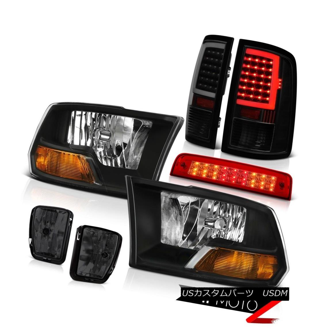 テールライト 2013-2018 Dodge RAM 1500 Tail Lights Brake Light Driving Lamp Factory Style Head 2013-2018 Dodge RAM 1500テールライトブレーキライト駆動ランプ工場スタイルヘッド