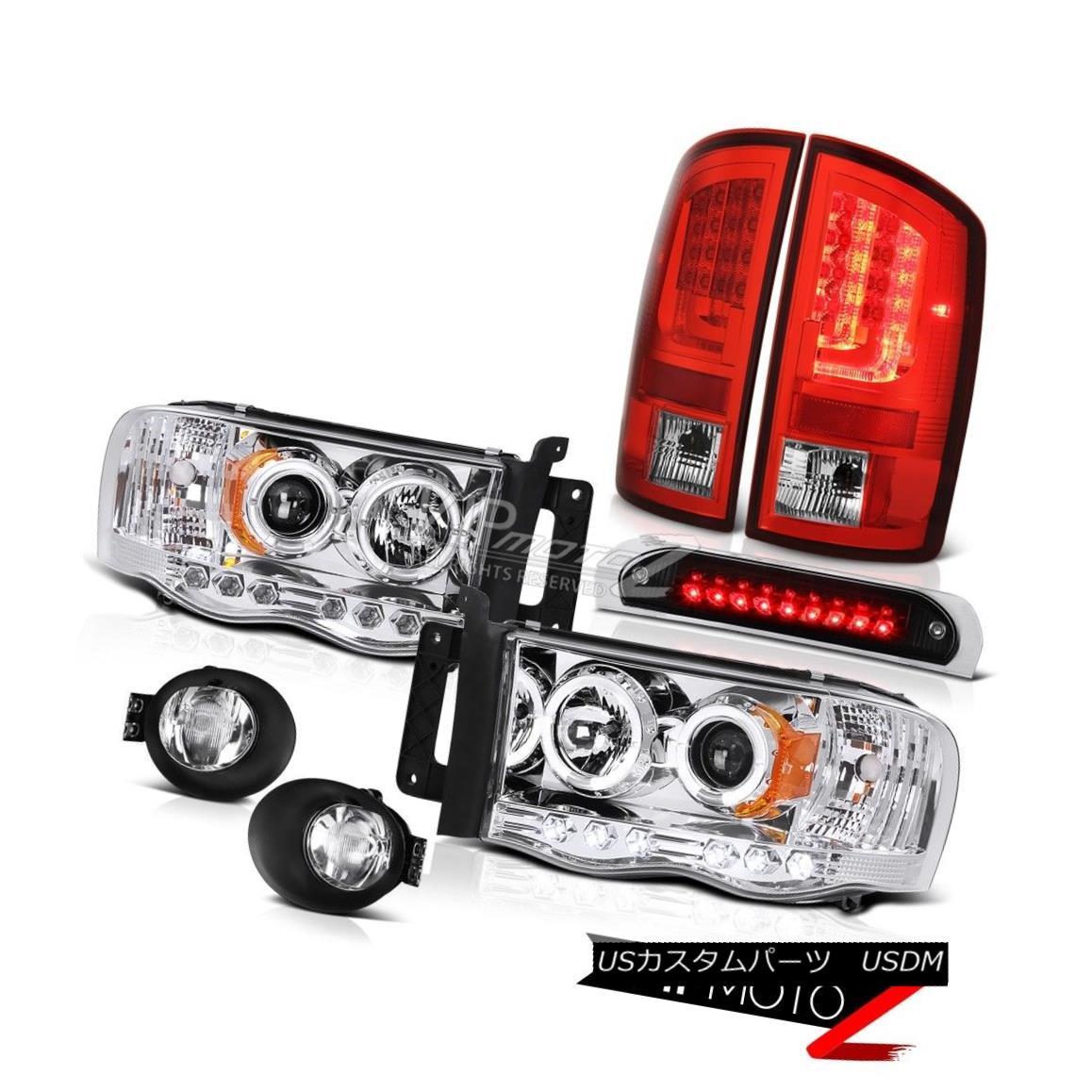 テールライト 2003-2005 Dodge Ram 1500 4.7L Taillamps Chrome Fog Lamps Roof Cab Lamp Headlamps 2003-2005ダッジラム1500 4.7Lタイルランプクロームフォグランプルーフキャブランプヘッドランプ