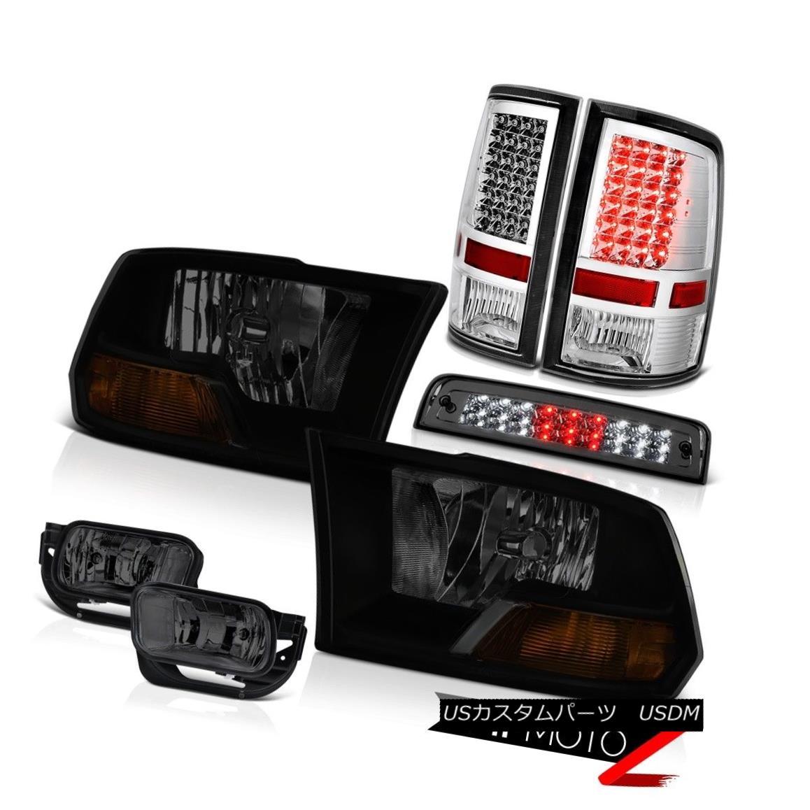 テールライト 2010-2018 Dodge Ram 2500 SLT Foglamps High Stop Light Taillamps Headlamps SMD 2010-2018 Dodge Ram 2500 SLTフォグランプハイストップライトタイルランプヘッドランプSMD