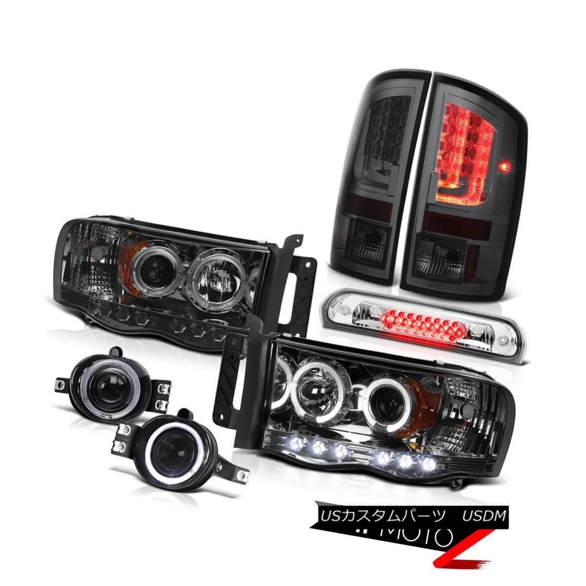 テールライト 2003-2005 Dodge Ram 3500 5.9L Tail Lamps Headlamps Fog Roof Cab Light Tron Tube 2003-2005 Dodge Ram 3500 5.9Lテールランプヘッドランプ霧屋根キャブライトTron Tube