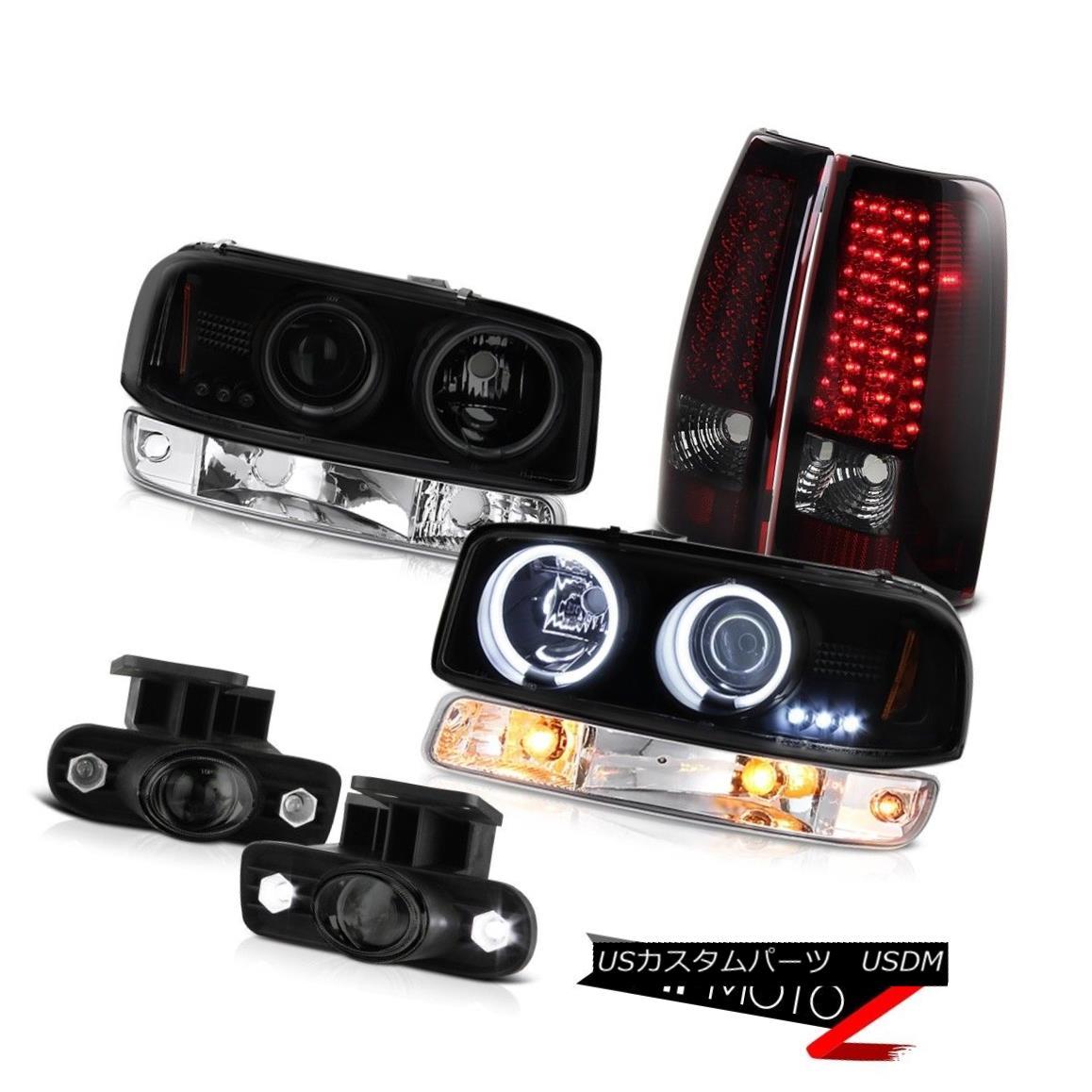 テールライト 99 00 01 02 Sierra SLT Foglights smd tail lamps bumper lamp ccfl headlamps LED 99 00 01 02シエラSLTフォグライトsmdテールランプバンパーランプccflヘッドライトLED