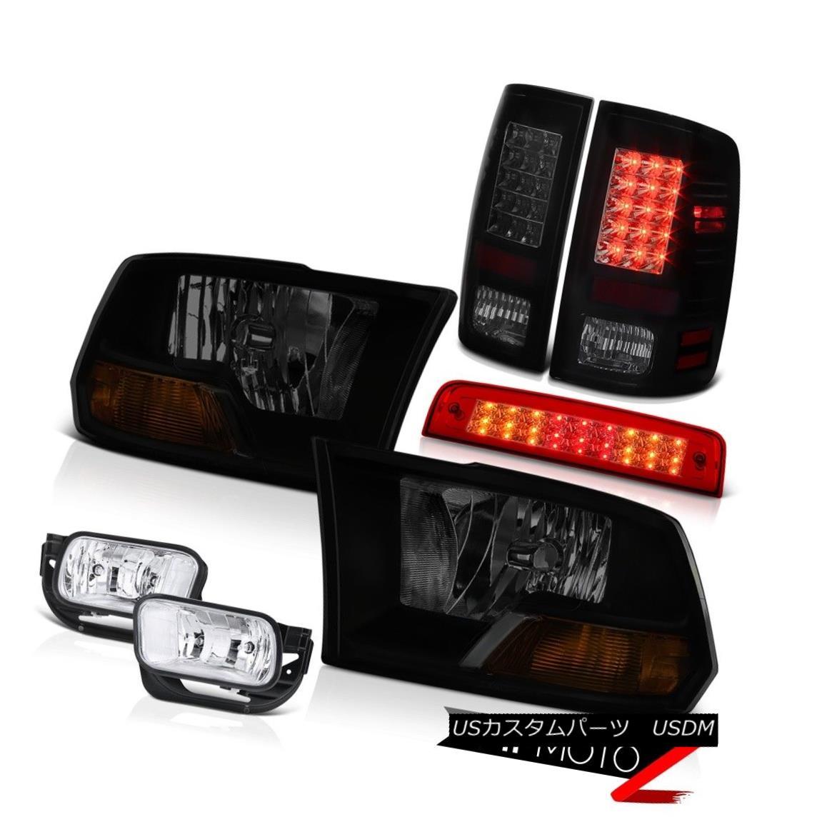 テールライト 09-18 Dodge Ram 2500 3500 6.7L Red Roof Cab Light Fog Lamps Taillamps Headlamps 09-18 Dodge Ram 2500 3500 6.7Lレッドルーフキャブライトフォグランプタイルランプヘッドランプ