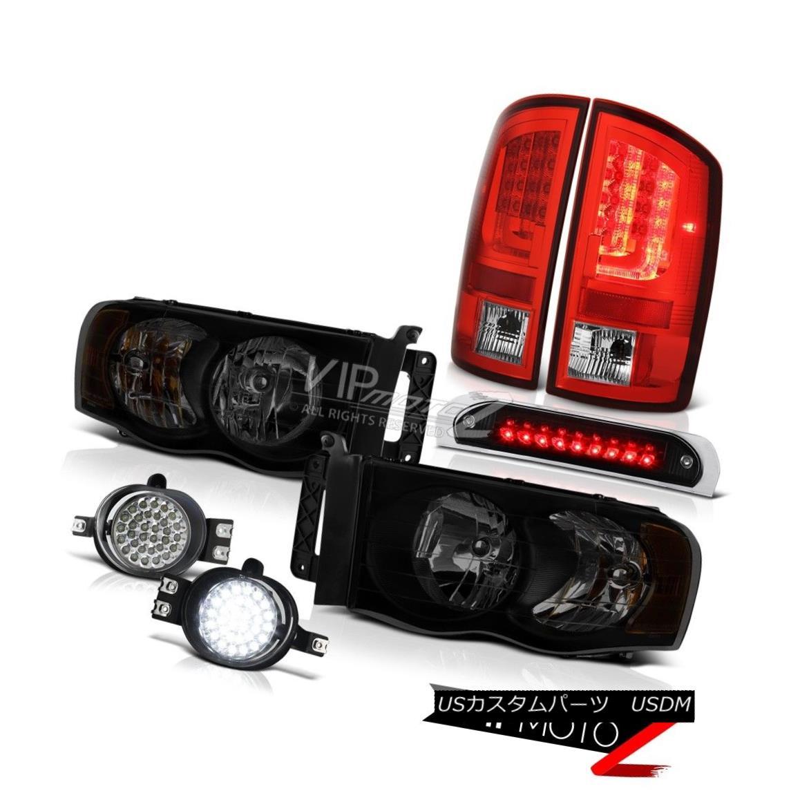 テールライト 2002-2005 Dodge Ram 1500 WS Taillamps Roof Brake Light Headlights Fog Lamps LED 2002-2005ダッジラム1500 WSタイルランプルーフブレーキライトヘッドライトフォグランプLED
