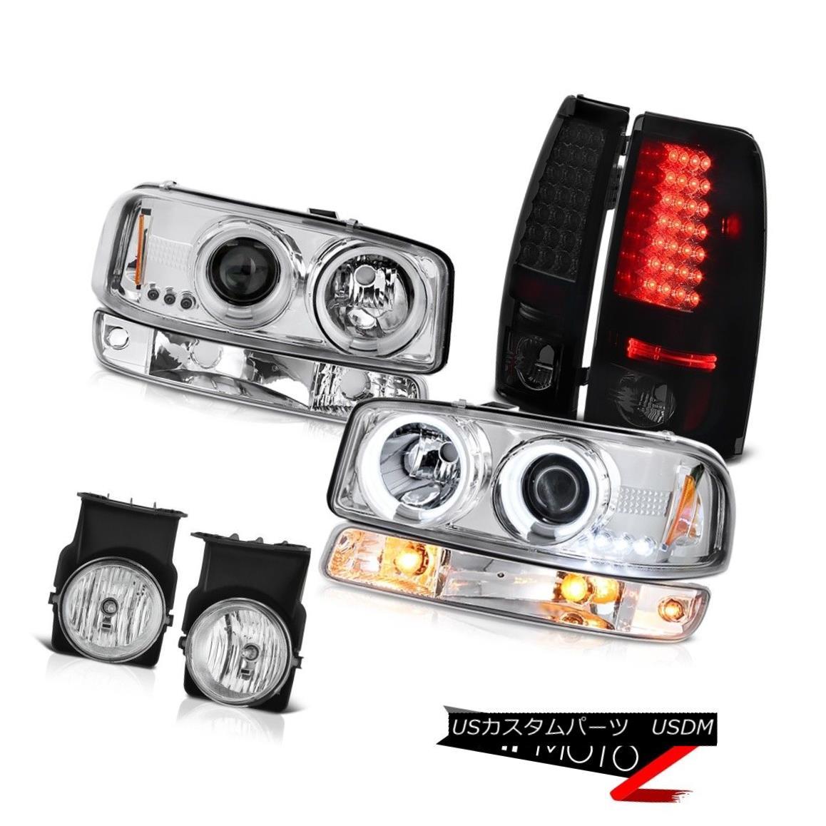 テールライト 03 04 05 06 Sierra 2500 Fog lights tail parking light ccfl projector Headlamps 03 04 05 06 Sierra 2500フォグライトテールパーキングライトccflプロジェクターヘッドランプ