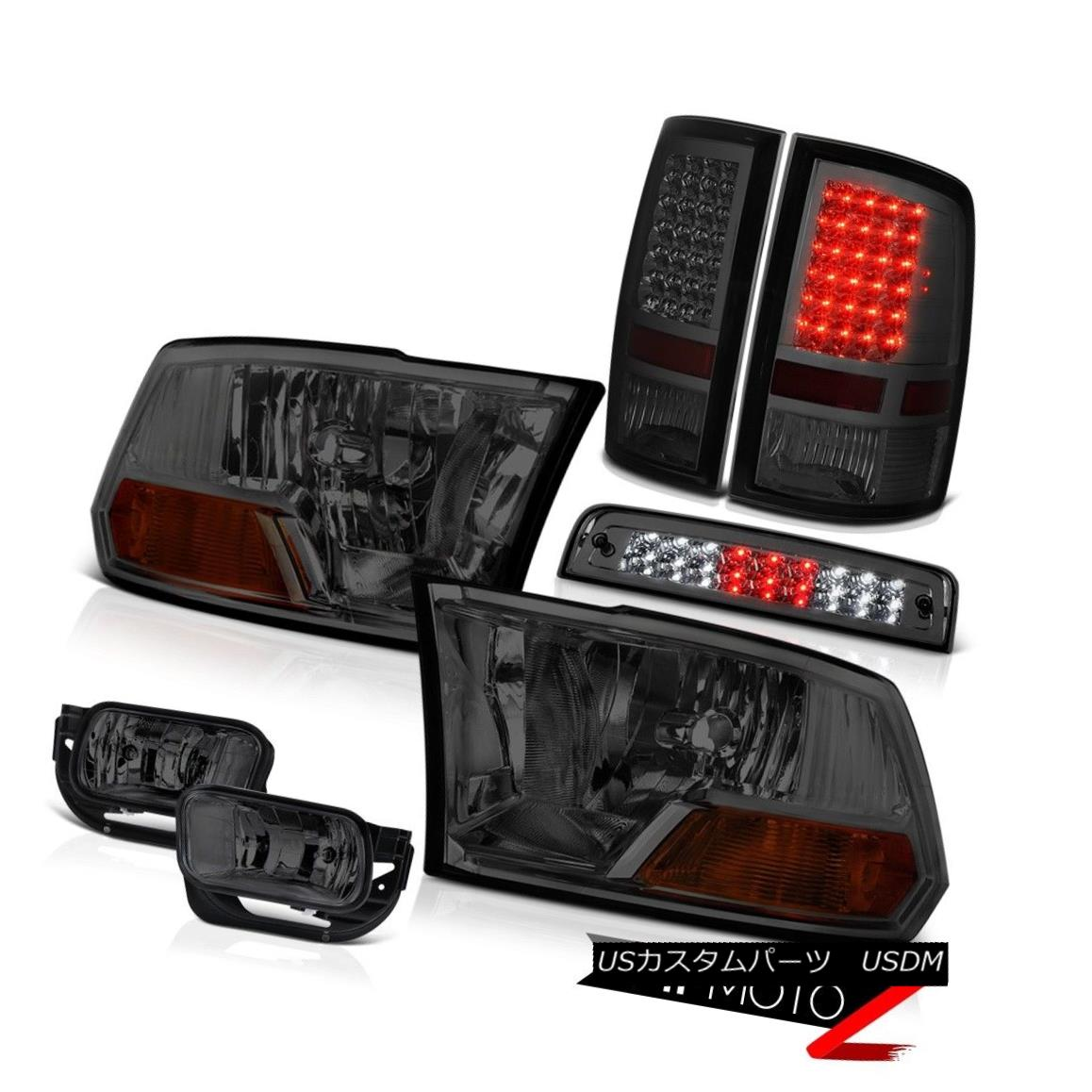 テールライト 2010-2018 Dodge Ram 3500 6.7L Fog Lights High Stop Light Taillights Headlamps 2010-2018 Dodge Ram 3500 6.7Lフォグライトハイストップライトテールライトヘッドランプ