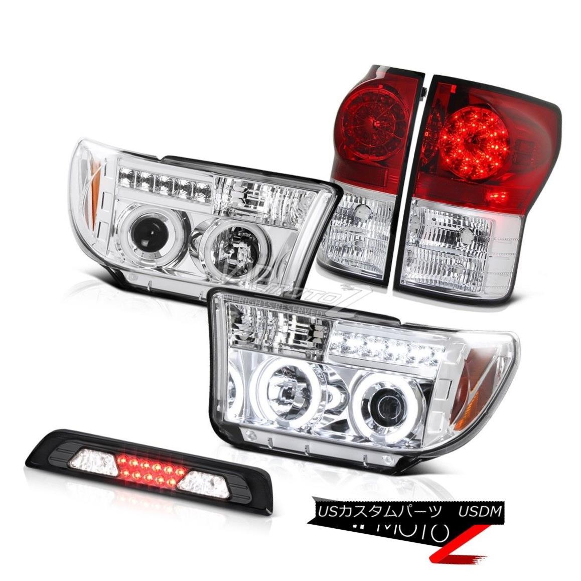 テールライト 07-13 Toyota Tundra Limited Smokey Third Brake Lamp Headlights Tail Lights LED 07-13 Toyota Tundra Limited Smokey ThirdブレーキランプヘッドライトテールライトLED