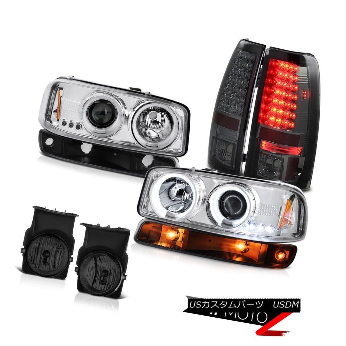 テールライト 03-06 Sierra WT Foglamps tail brake lights black parking light ccfl headlamps 03-06シエラWTフォグランプテールブレーキライトブラックパーキングライトccflヘッドライト