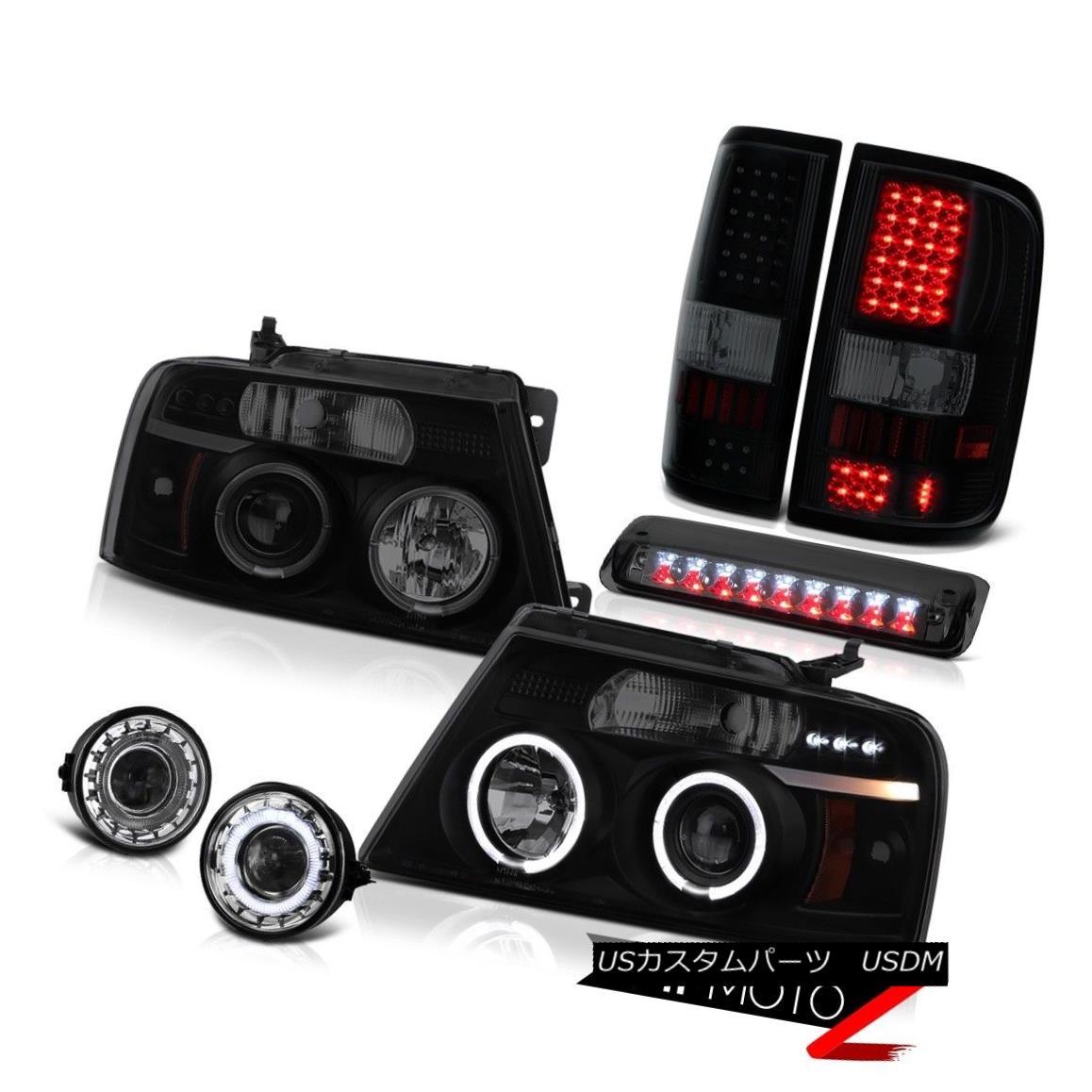 テールライト 2006-2008 Ford F150 XLT Chrome Foglamps Roof Cab Lamp Tail Lights Headlights SMD 2006-2008フォードF150 XLTクロームフォグランプルーフキャブランプテールライトヘッドライトSMD