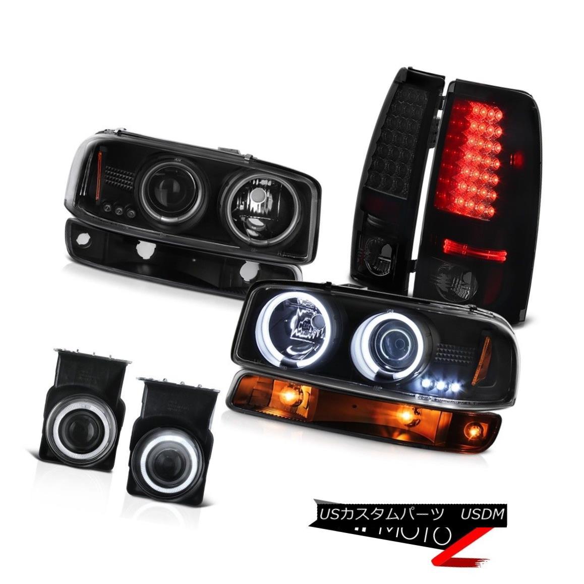 テールライト 03-06 Sierra WT Chrome foglights tail lights black parking light ccfl headlights 03-06シエラWTクロームフォグライトテールライトブラックパーキングライトccflヘッドライト
