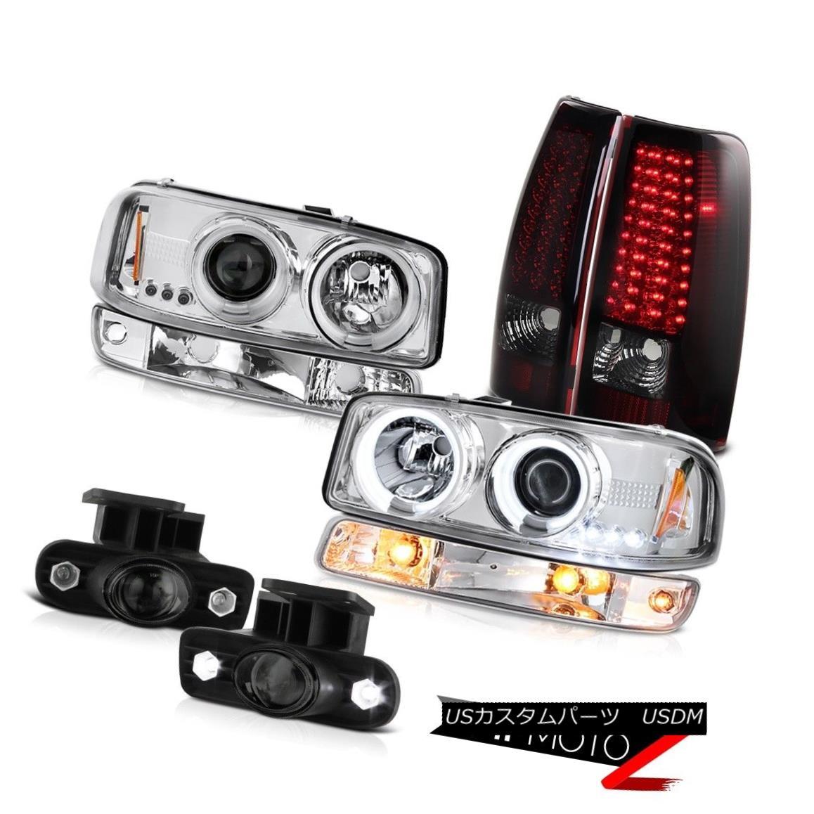 テールライト 99-02 Sierra SL Fog lamps rear smd brake euro clear bumper light ccfl Headlamps 99-02シエラSLフォグランプリアスマートブレーキユーロクリアバンパーライトccflヘッドランプ