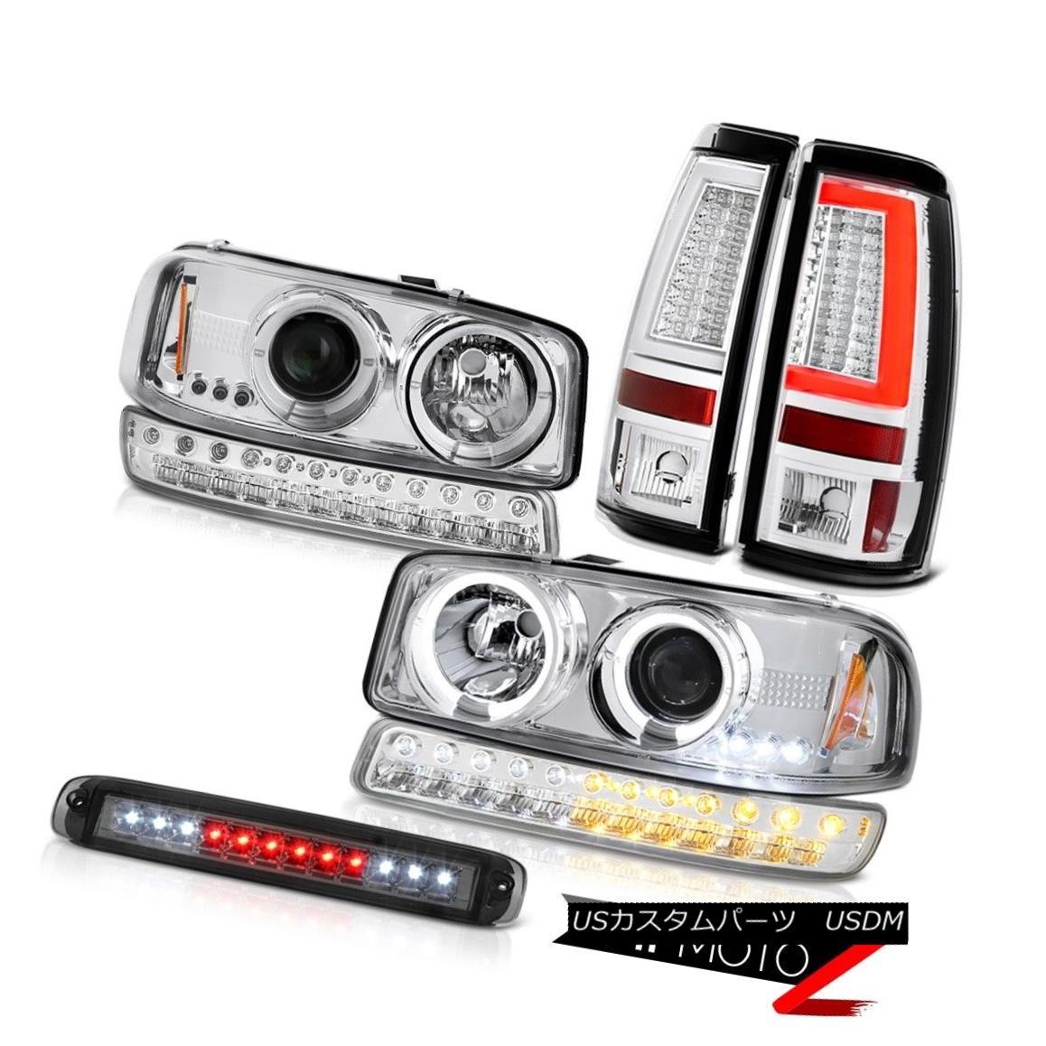 テールライト 99-06 Sierra 1500 Tail Brake Lamps Third Light Signal Headlights