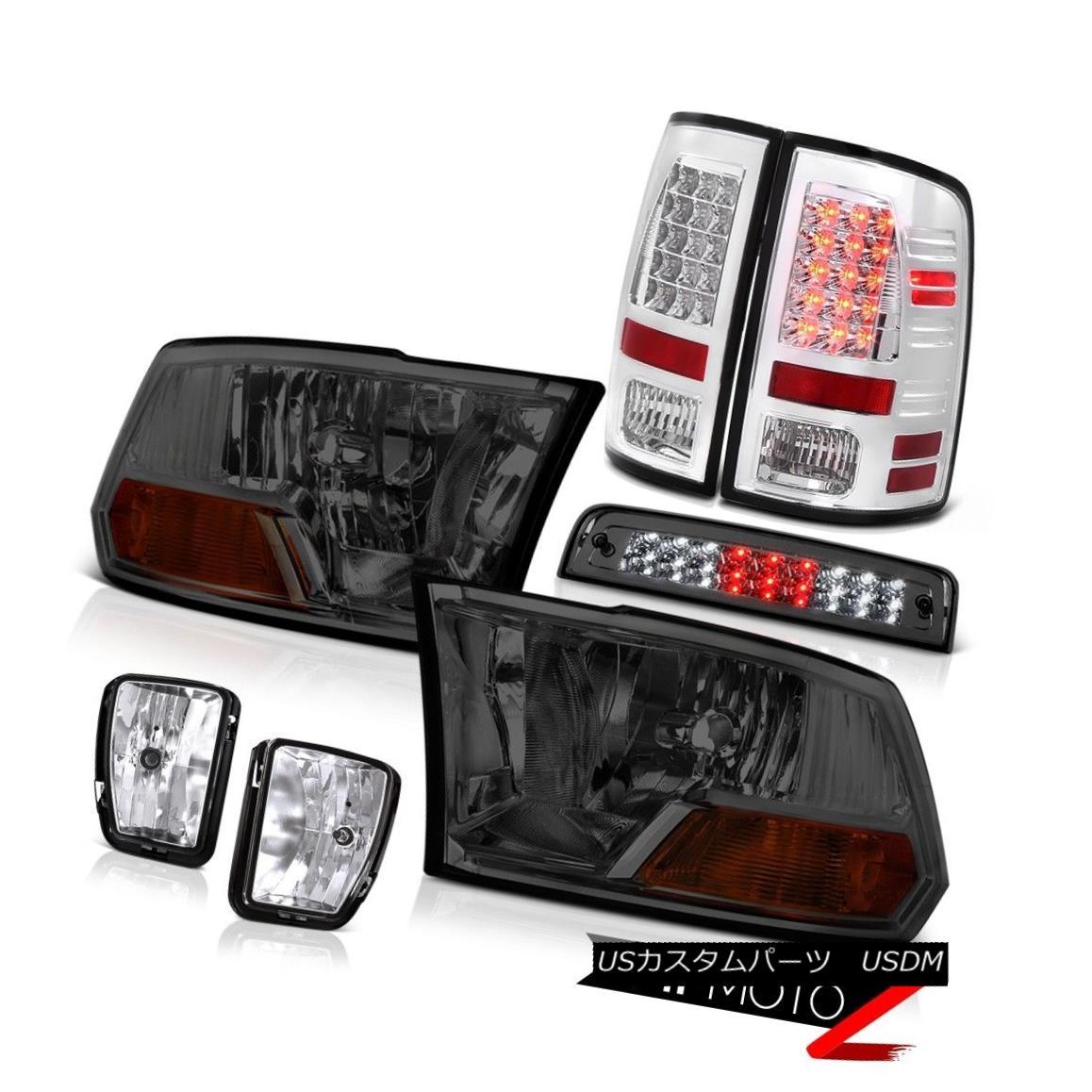 テールライト 2013-2018 Dodge Ram 1500 5.7L Roof Brake Lamp Fog Lamps Taillights Headlights 2013-2018 Dodge Ram 1500 5.7L屋根用ブレーキランプフォグランプ幼児用ヘッドライト