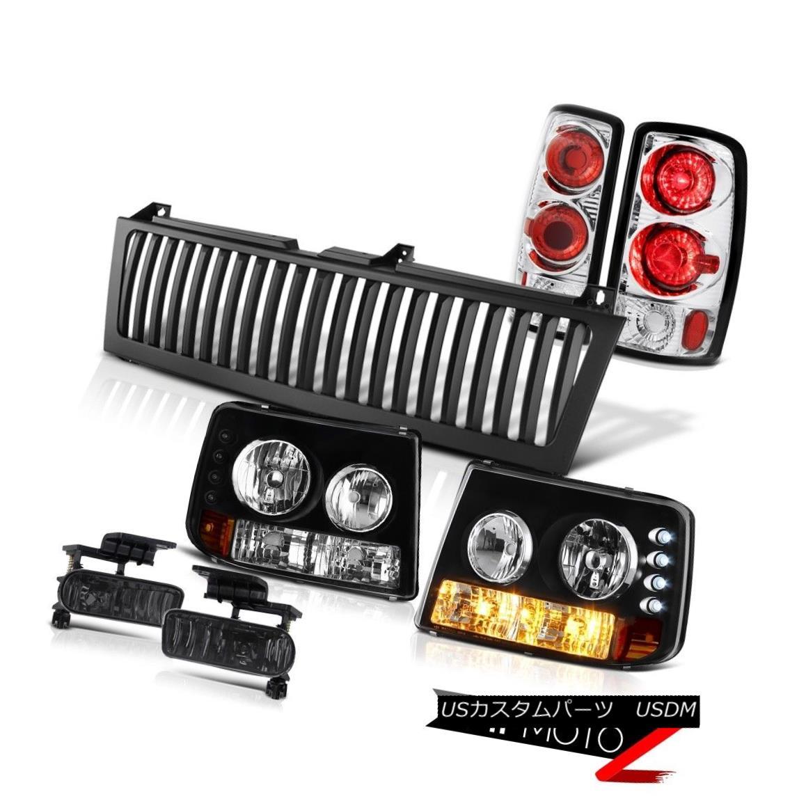 テールライト 00 01 02 03 04 05 06 Tahoe 5.3L Bumper+Headlight Brake Taillamp Fog Black Grille 00 01 02 03 04 05 06タホ5.3Lバンパー+ヘッドリグ htブレーキ・タイラーンプ・フォグ・ブラック・グリル