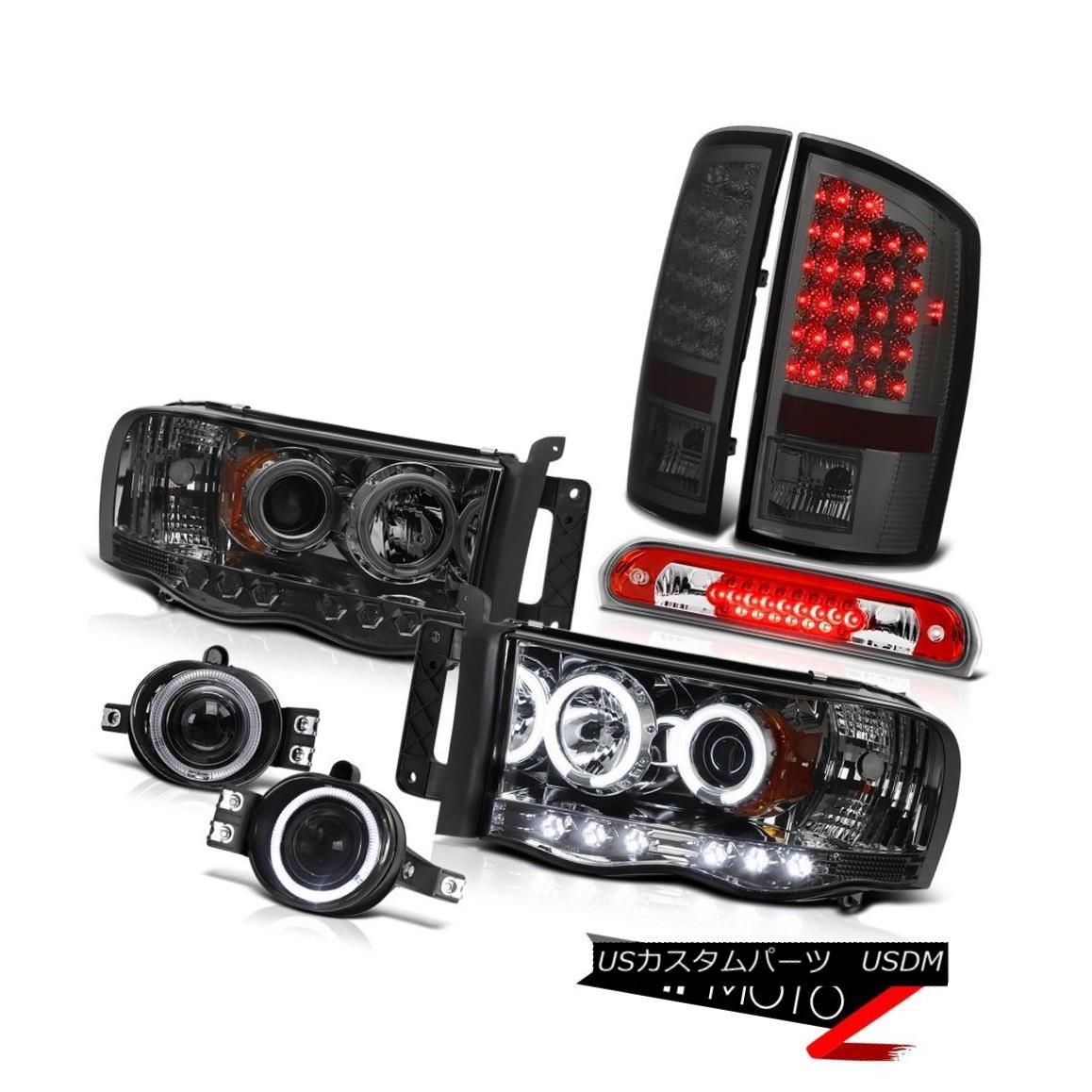 テールライト 2002-2005 Ram DRL Headlight LED Tail Lights Projector Foglights Roof Brake 2002-2005ラムDRLヘッドライトLEDテールライトプロジェクターフォグライトルーフブレーキ