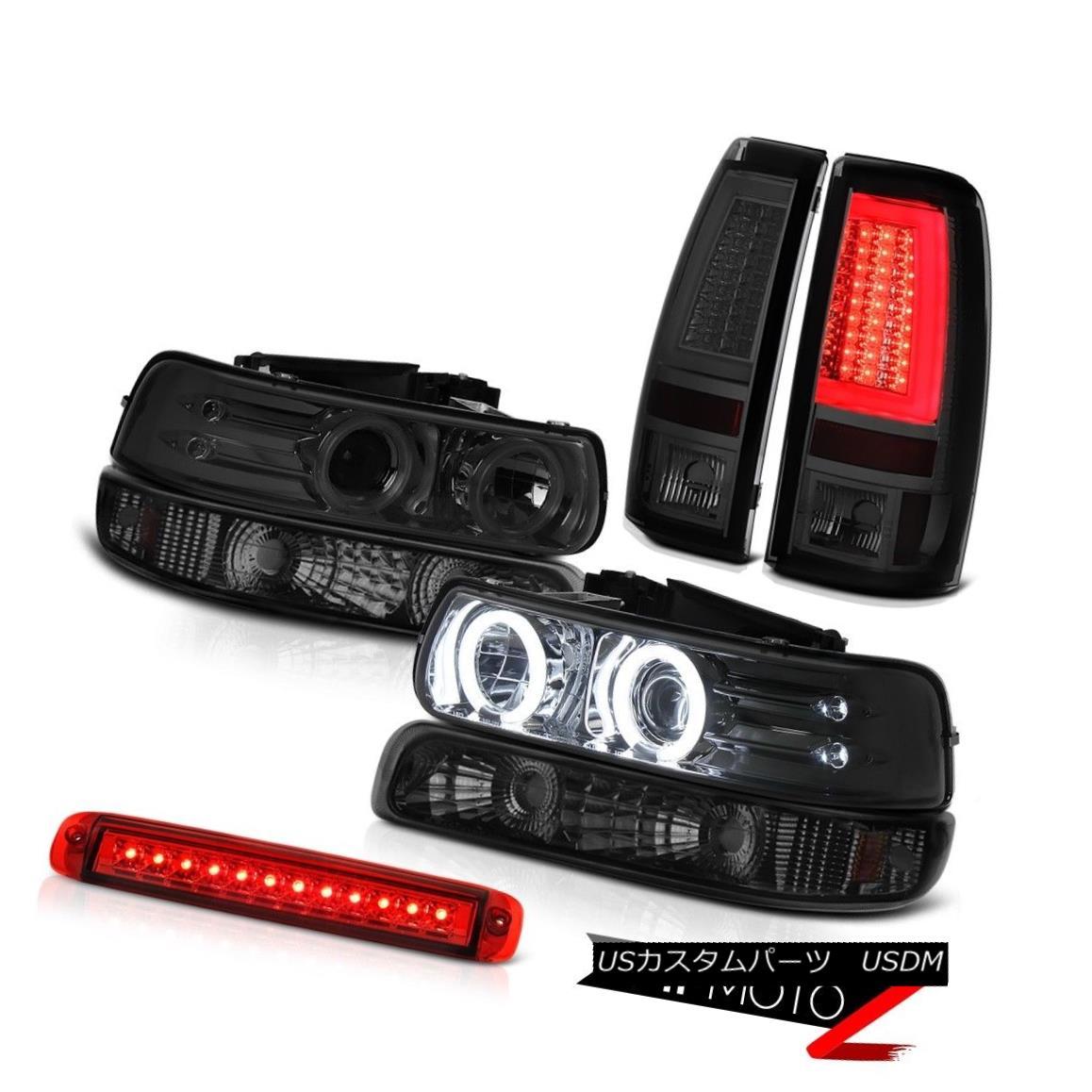テールライト 99 00 01 02 Silverado Z71 Tail Lights 3rd Brake Lamp Bumper Headlamps OLED Prism 99 00 01 02 Silverado Z71テールライト第3ブレーキランプバンパーヘッドランプOLEDプリズム