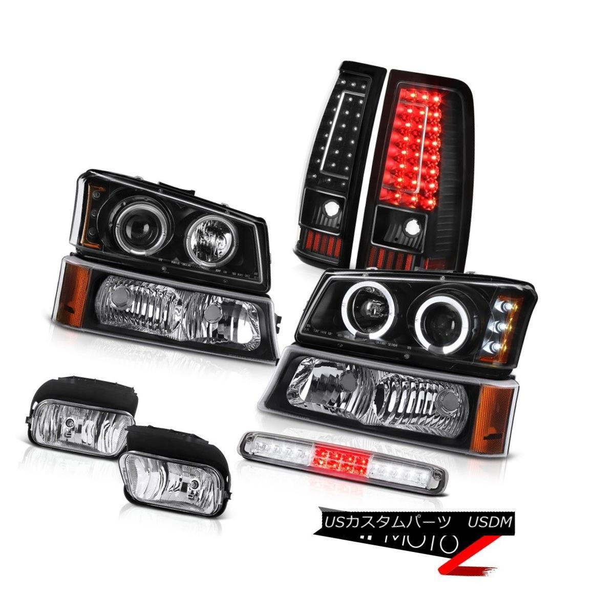 テールライト 03-06 Silverado 3RD Brake Light Foglamps Tail Lamps Bumper Projector Headlamps 03-06 Silverado 3RDブレーキライトフォグランプテールランプバンパープロジェクターヘッドランプ