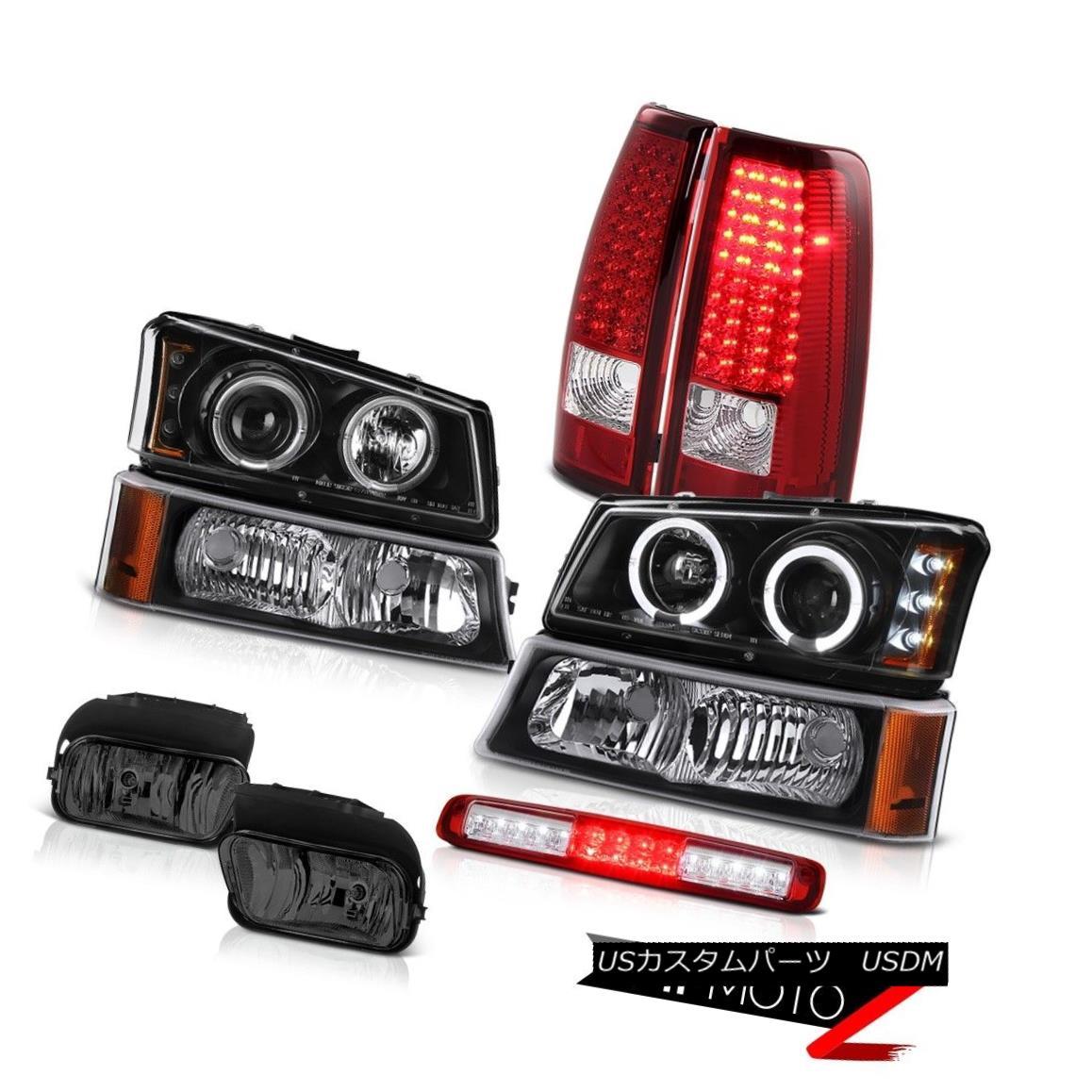 テールライト 03-06 Silverado Fog Lights Signal Lamp High Stop Light Headlamps Tail Lamps SMD 03-06 Silveradoフォグライト信号ランプハイストップライトヘッドランプテールランプSMD