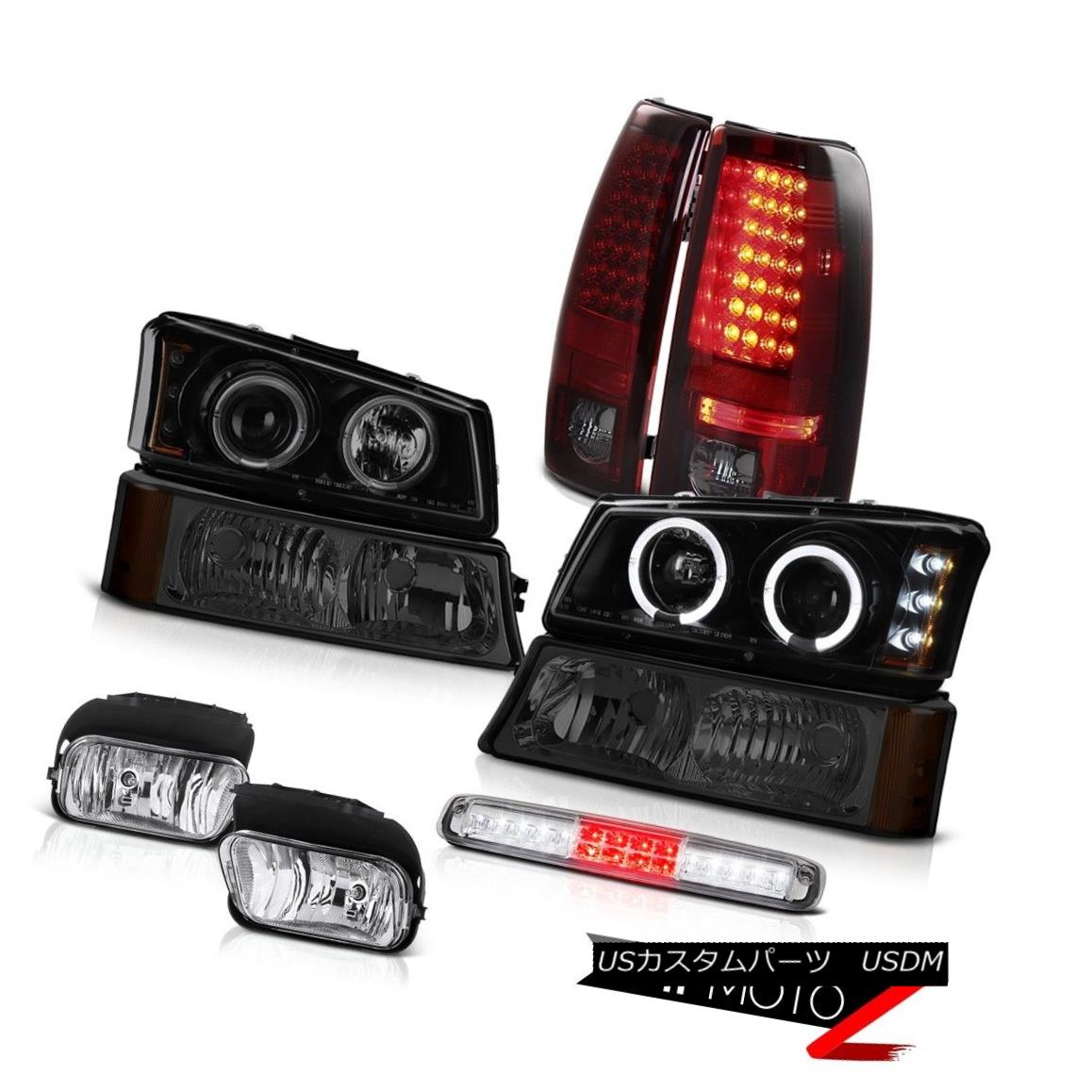 テールライト 2003-2006 Silverado Foglights Bumper Light Third Brake Headlights Taillights 2003-2006 Silverado Foglightsバンパーライトサードブレーキライトヘッドライト